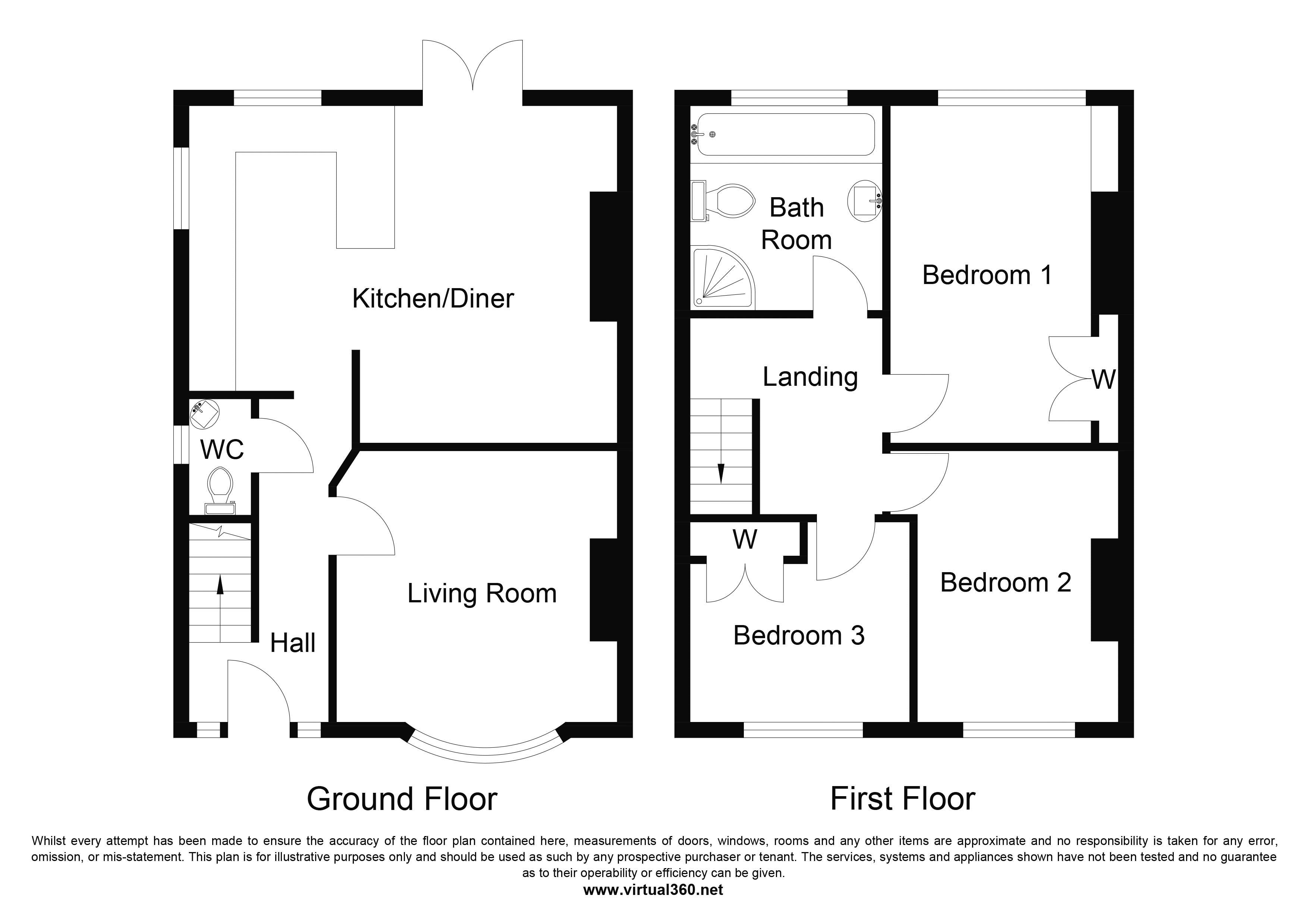 Jesmond Crescent, Crewe floor plan