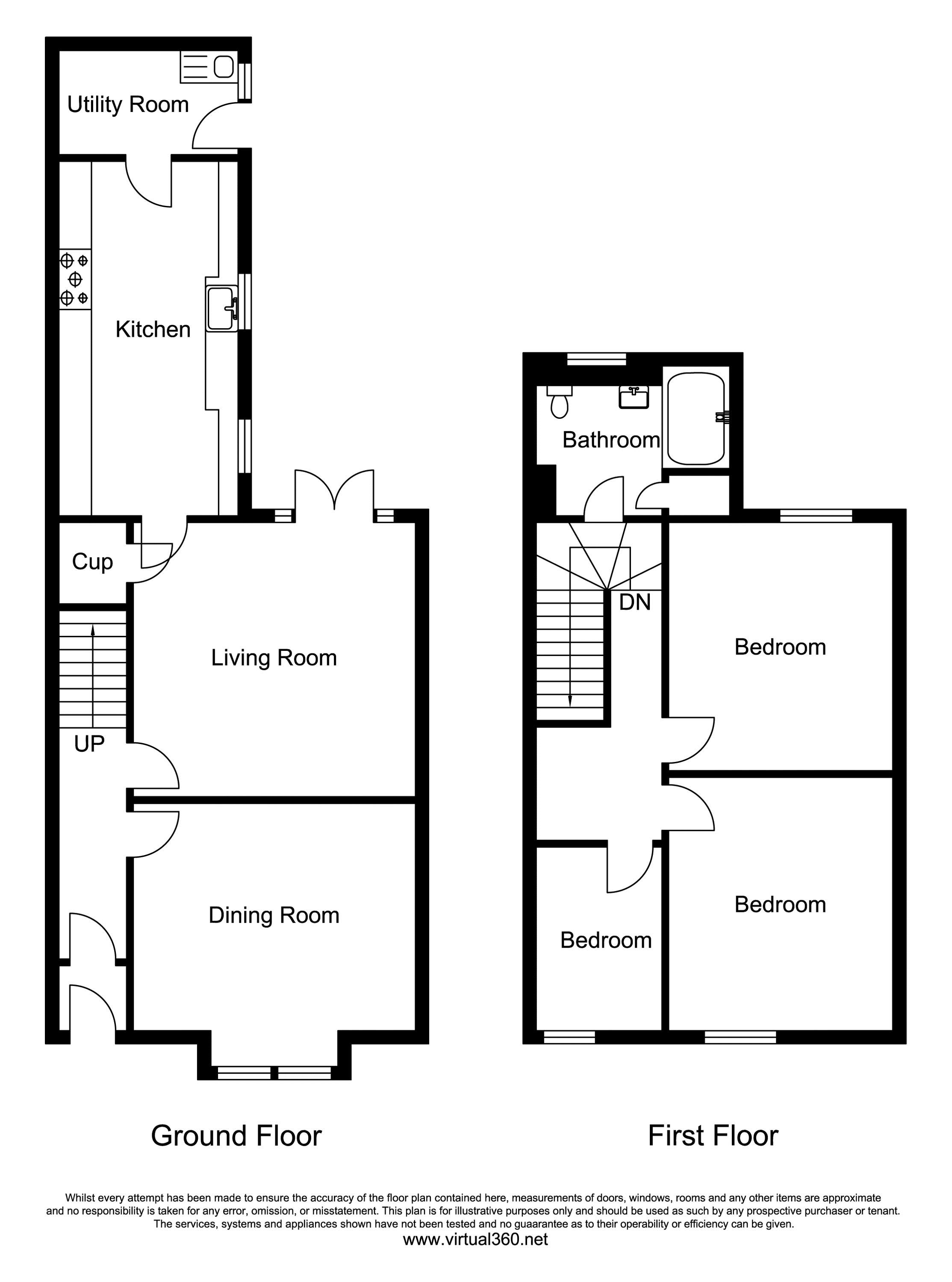 Castle View, Ovingham floor plan