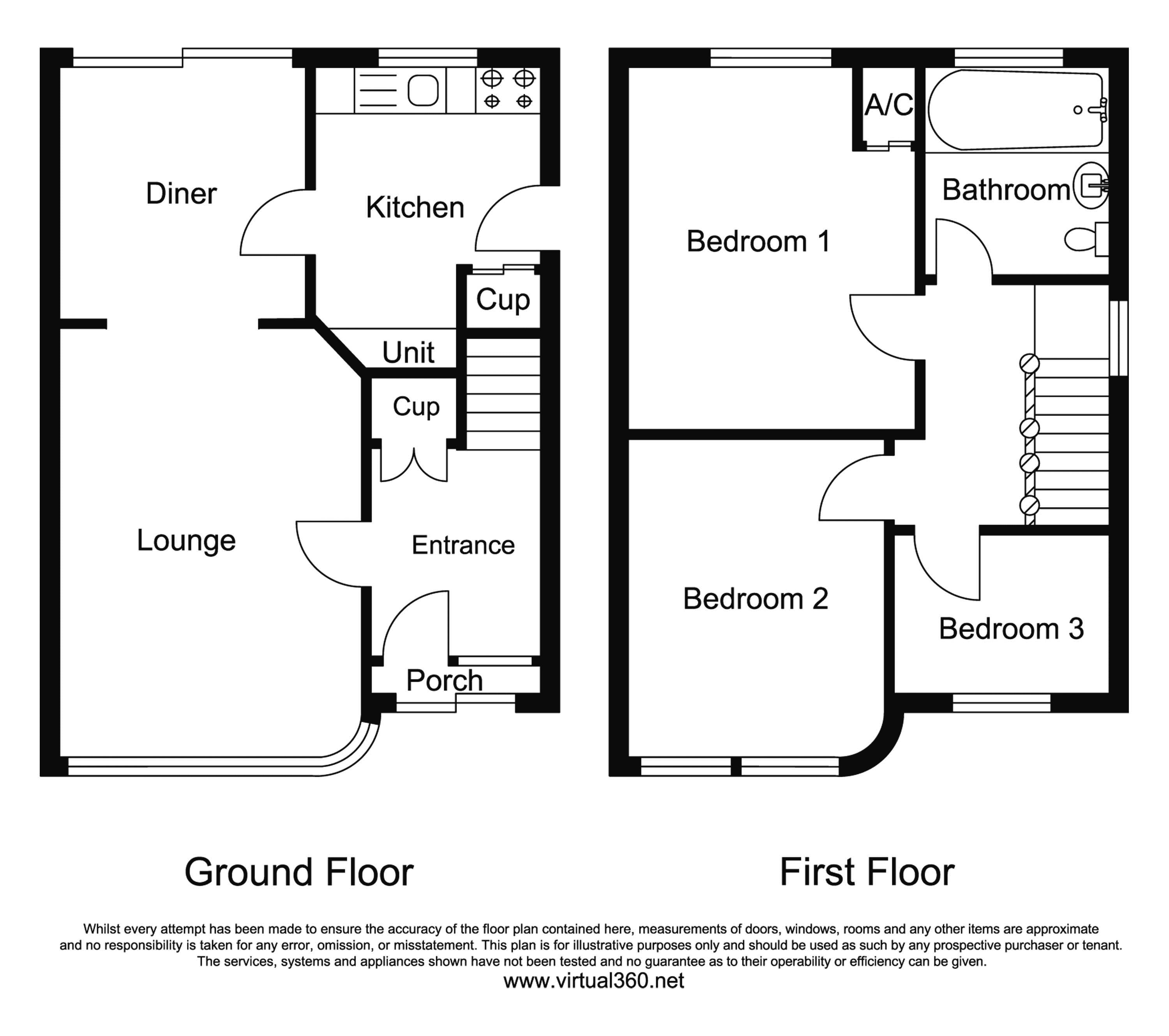 Glenfield Road, Leicester floor plan