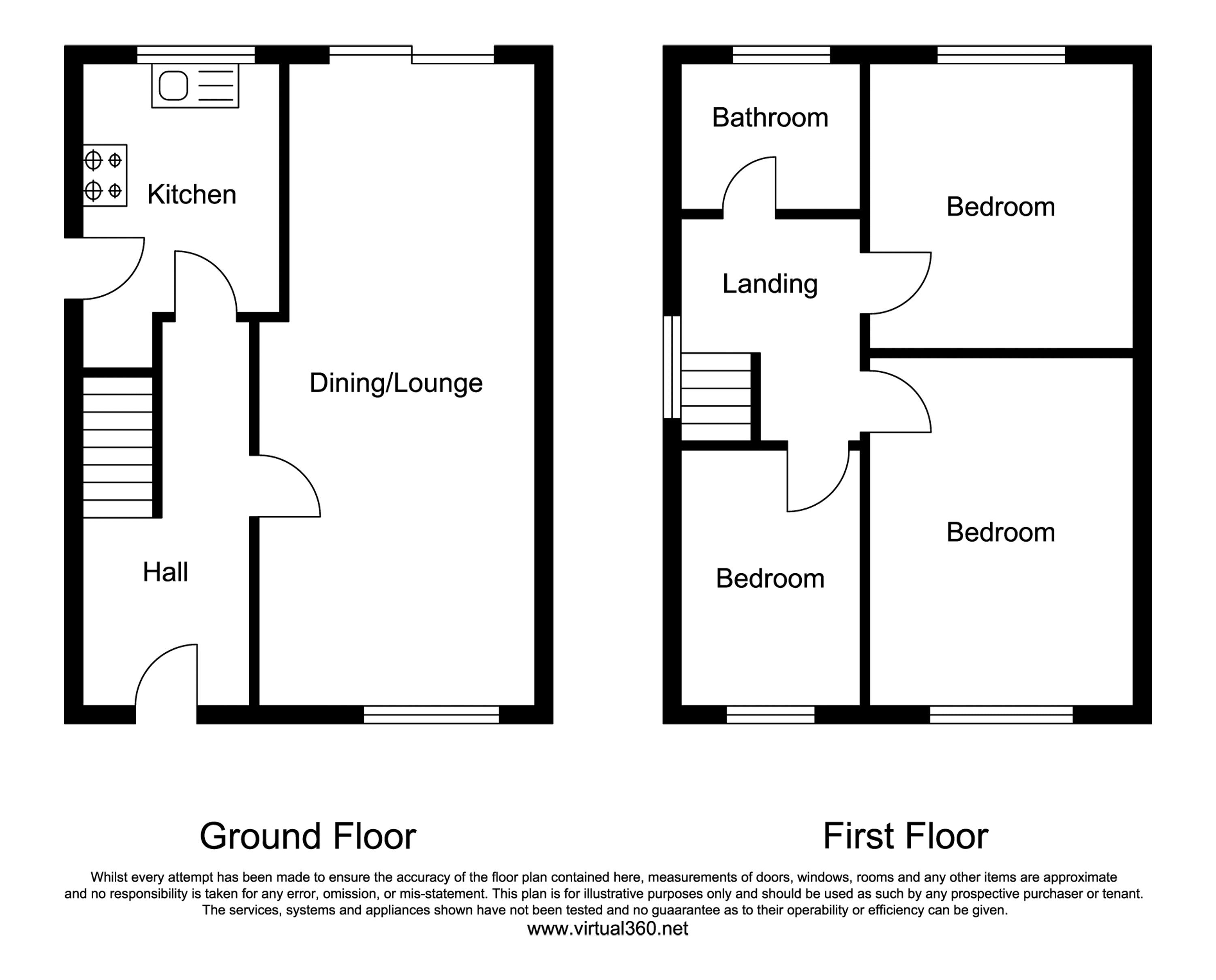 Aylton Close, Worcester floor plan