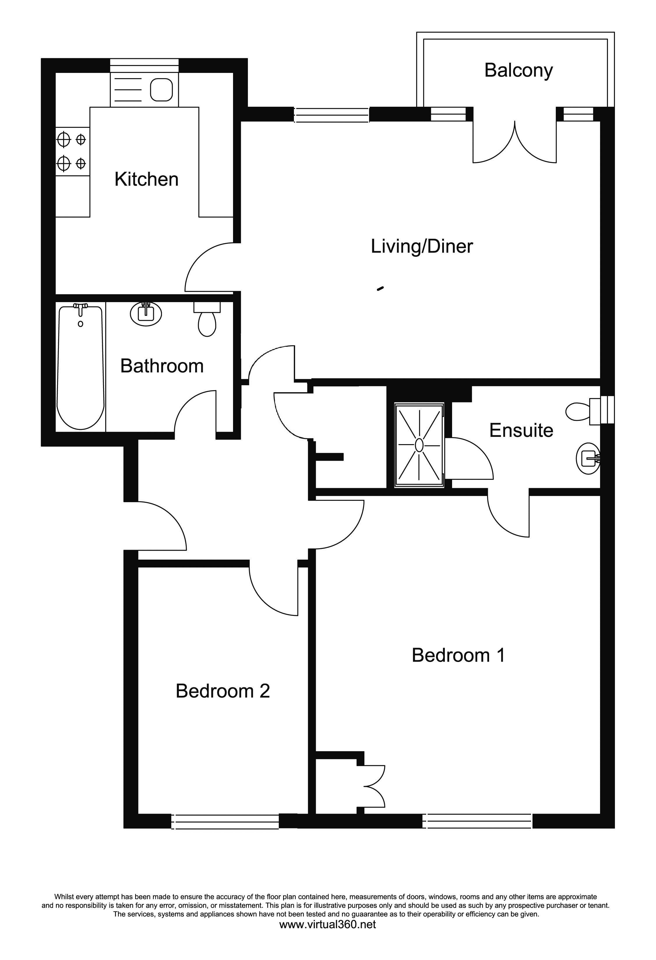 Osier Crescent, Muswell Hill, London, N10 floor plan