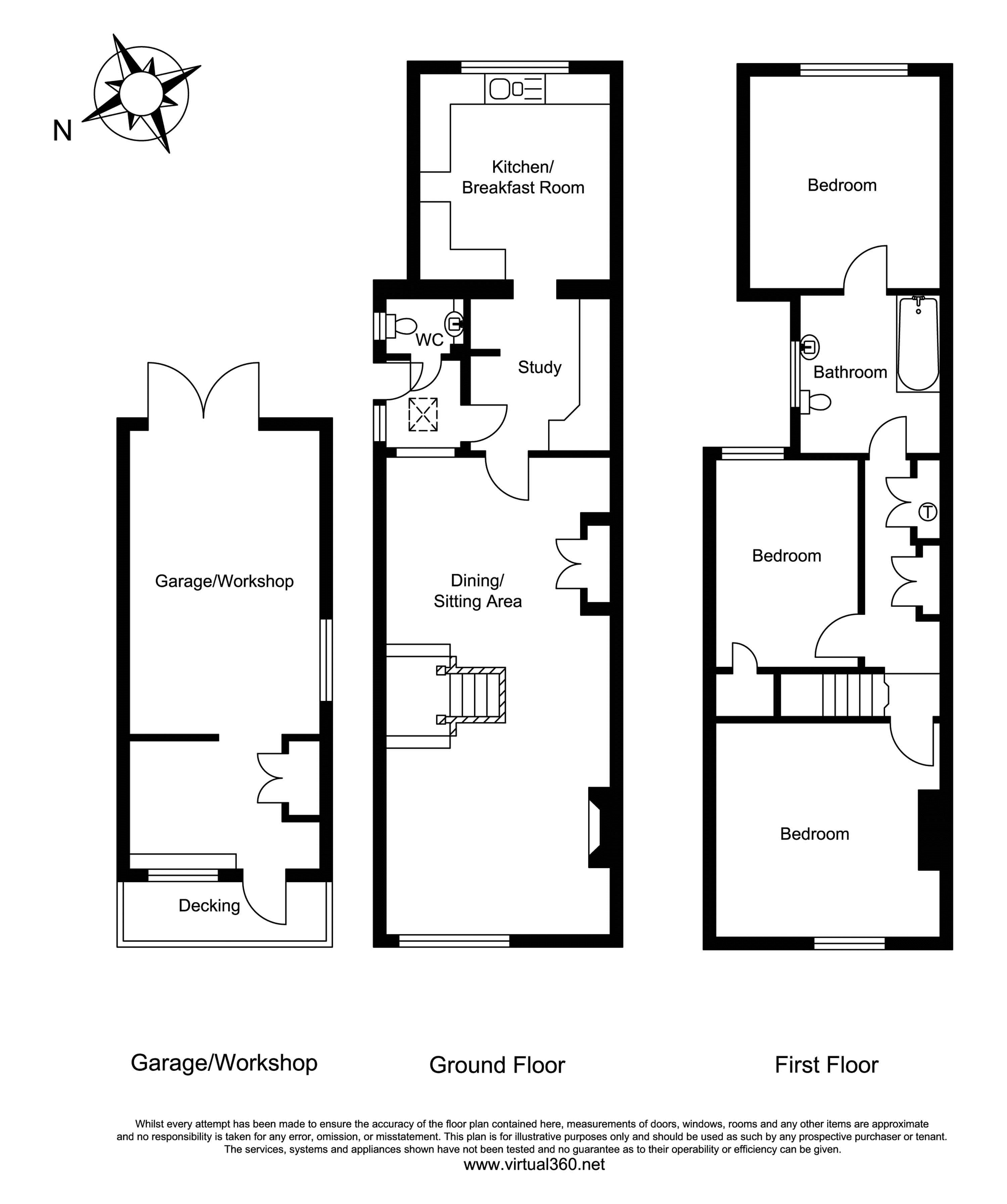 Thursley Road, Elstead, Godalming floor plan
