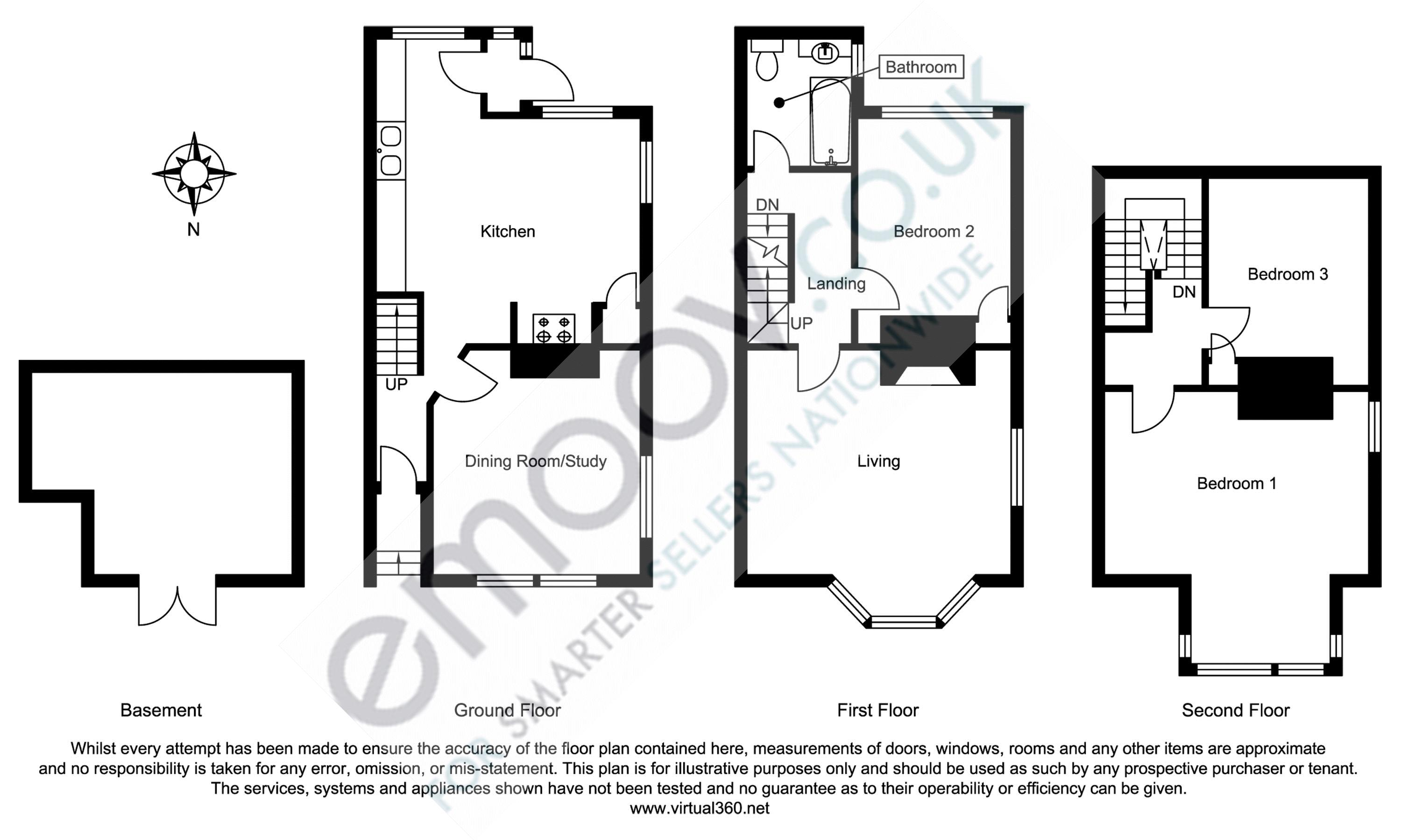 Mount Pleasant Lane, Swanage floor plan