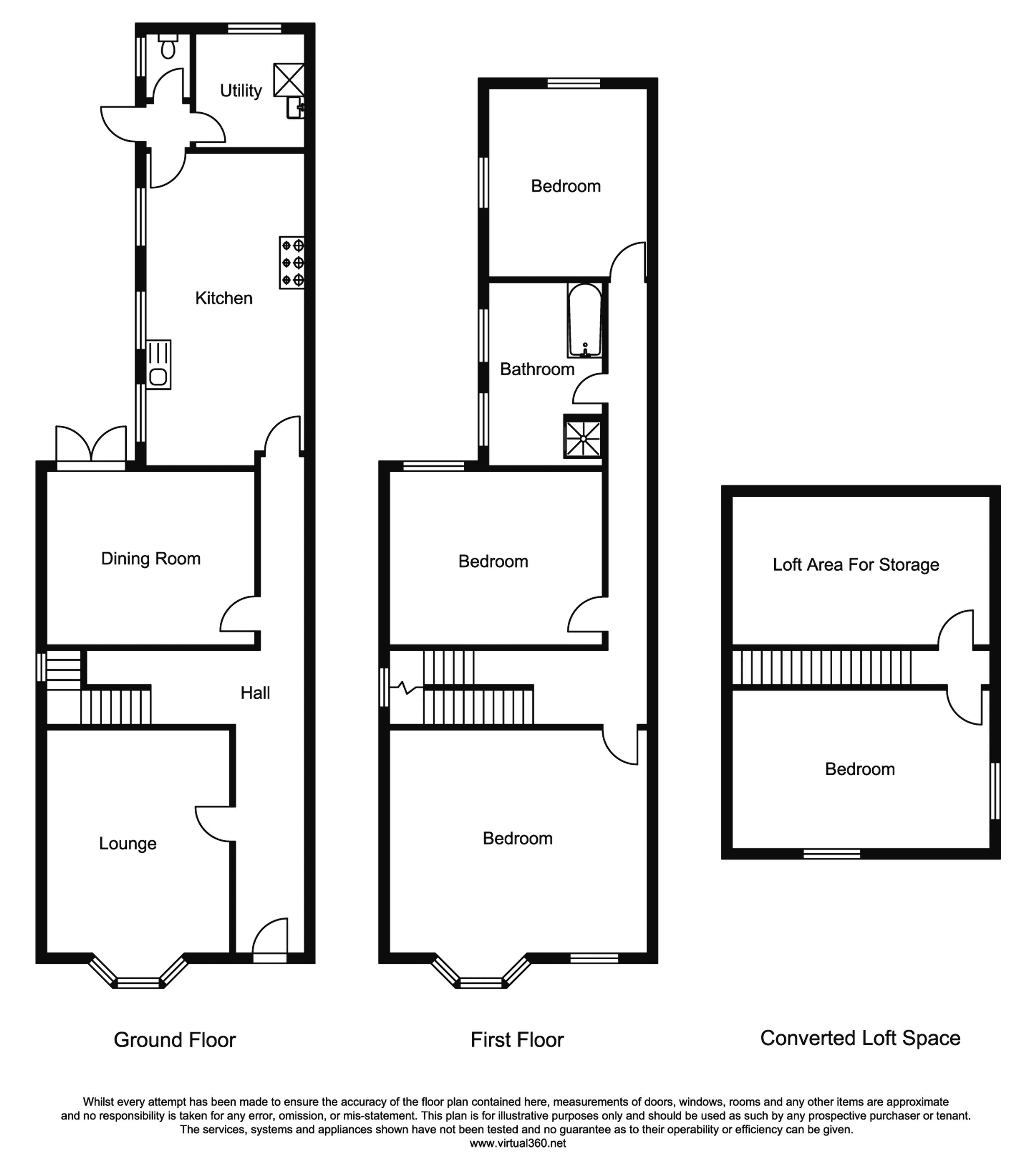 The Hill Avenue, Worcester floor plan