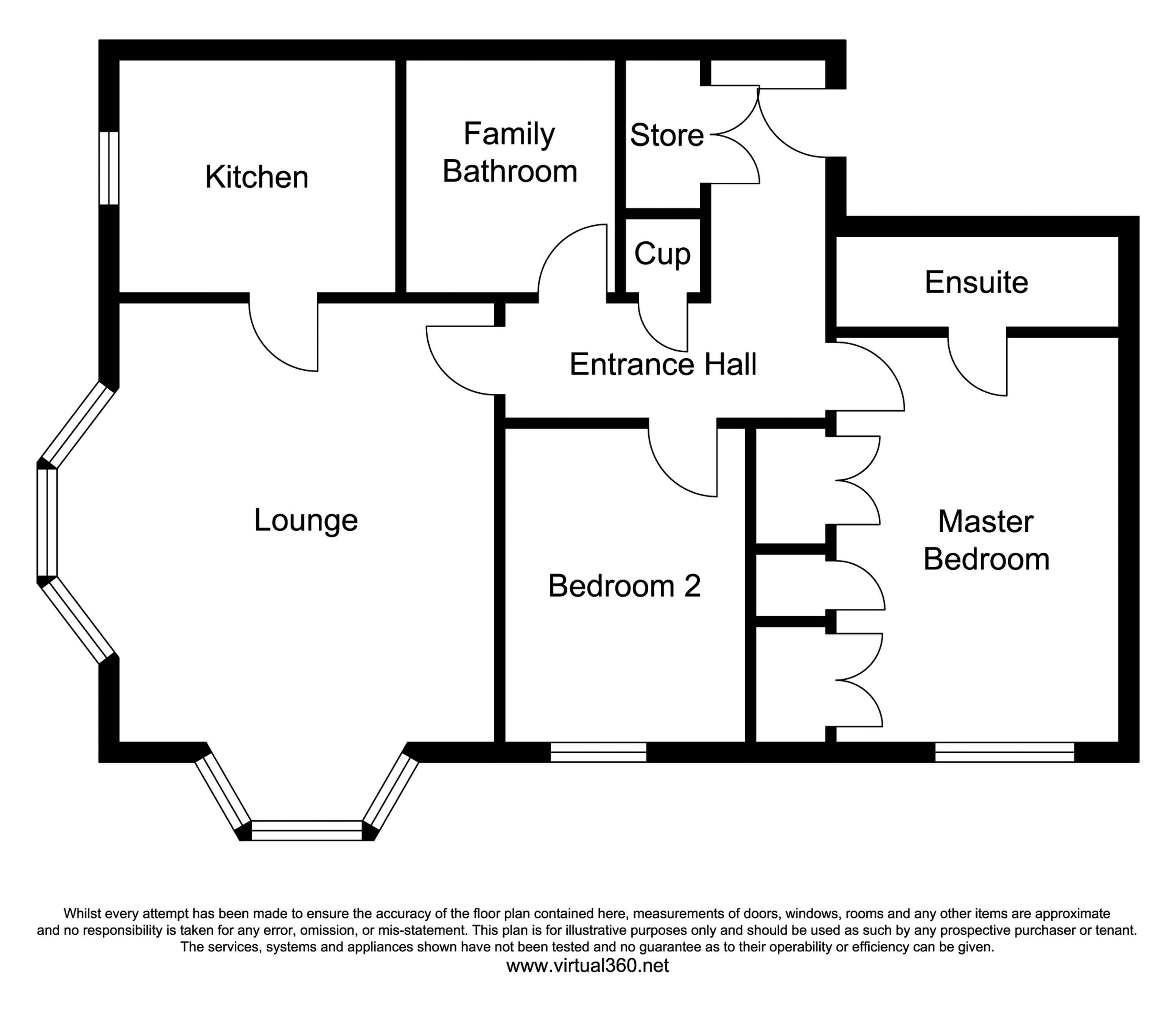 Olive Shapley Avenue, Manchester floor plan