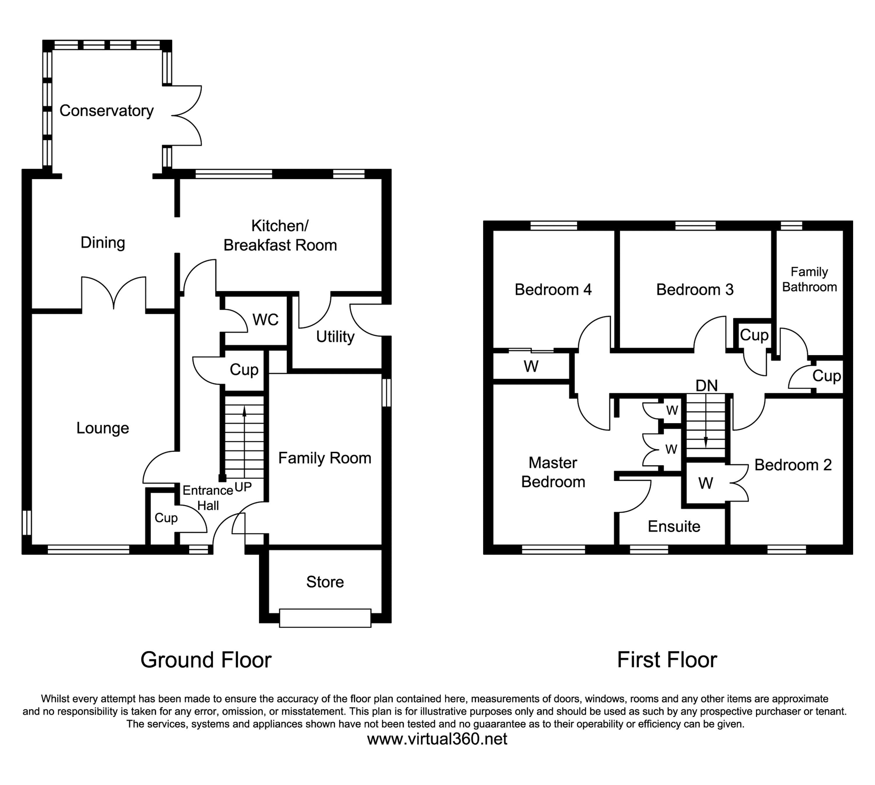 Whinney Brow, Thackley floor plan