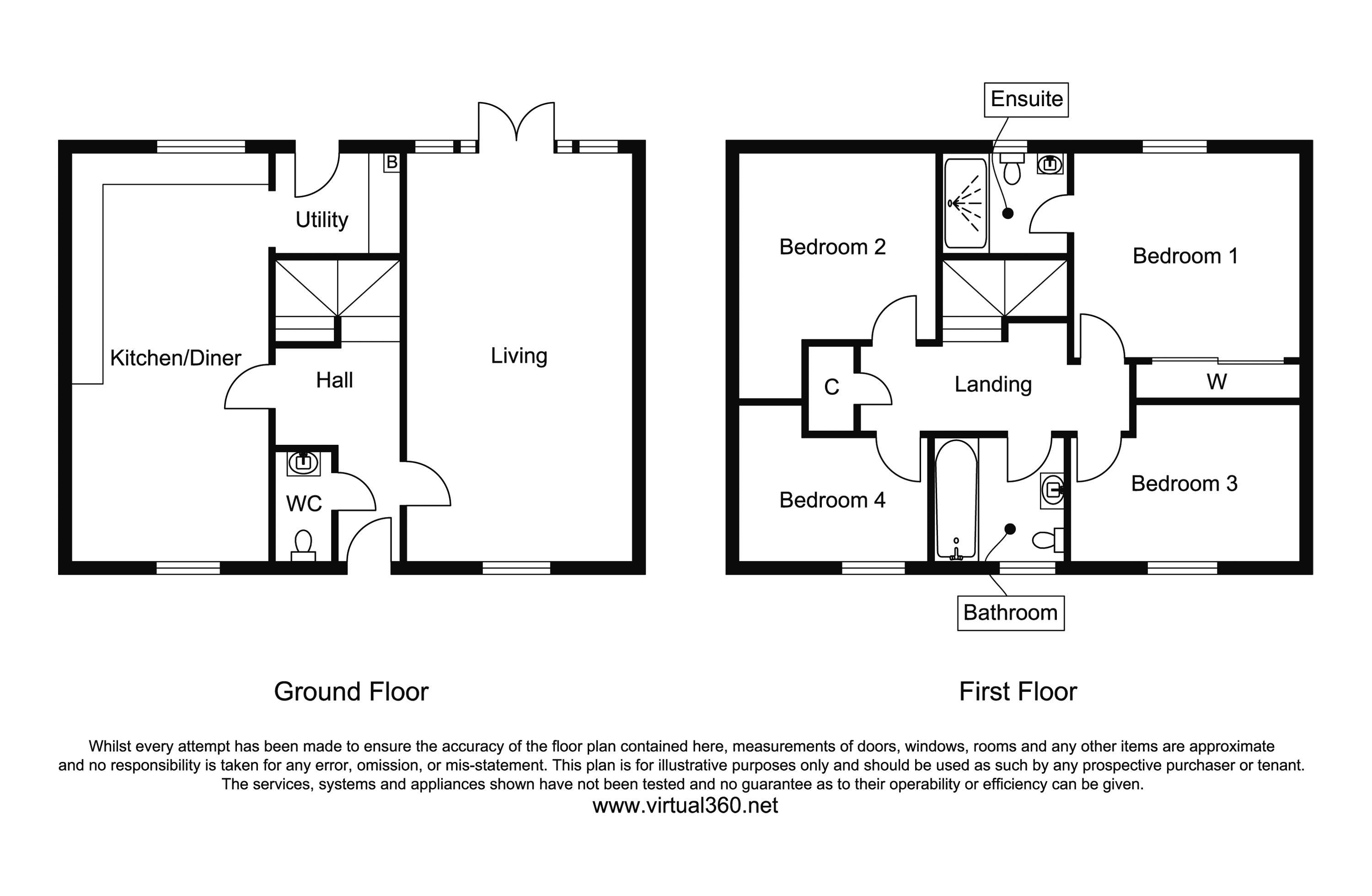 Norman Croft, Shefford floor plan