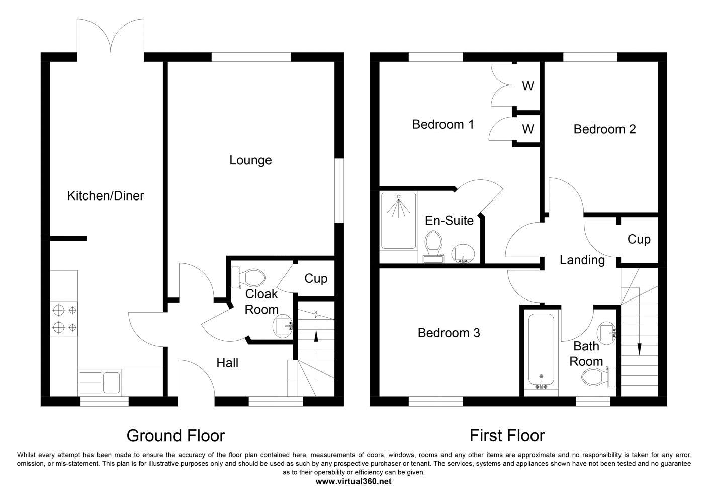 Foxhouse Road, Costessey, Norwich floor plan