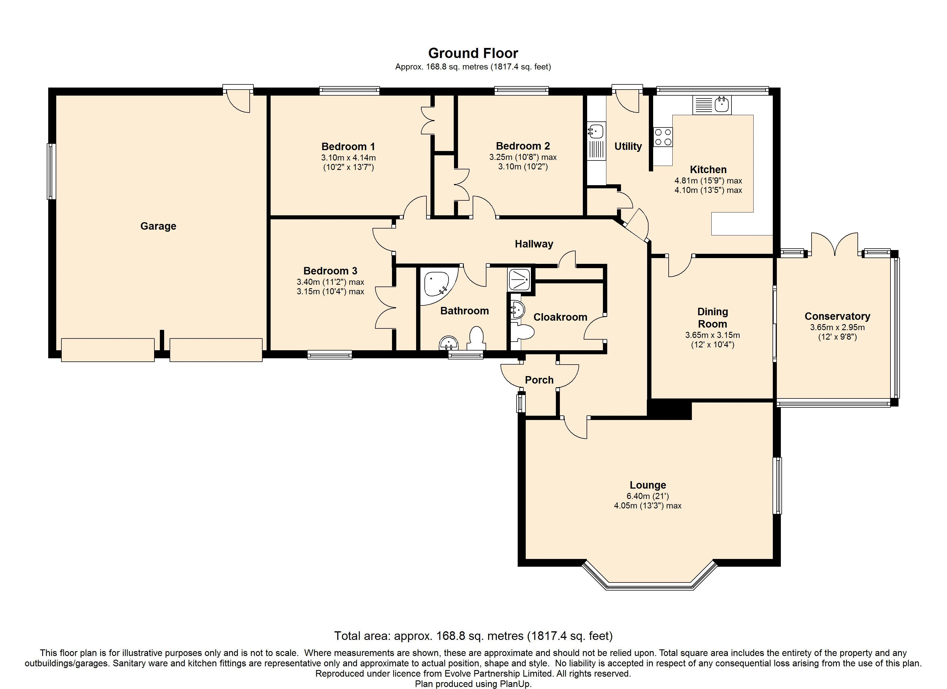 Old Coach Road, Bishops Wood, South Staffordshire floor plan