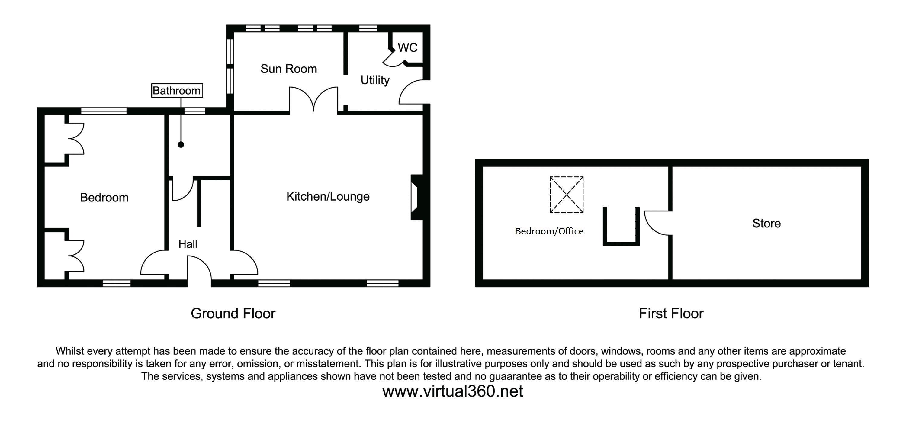 Edinbane, Portree floor plan