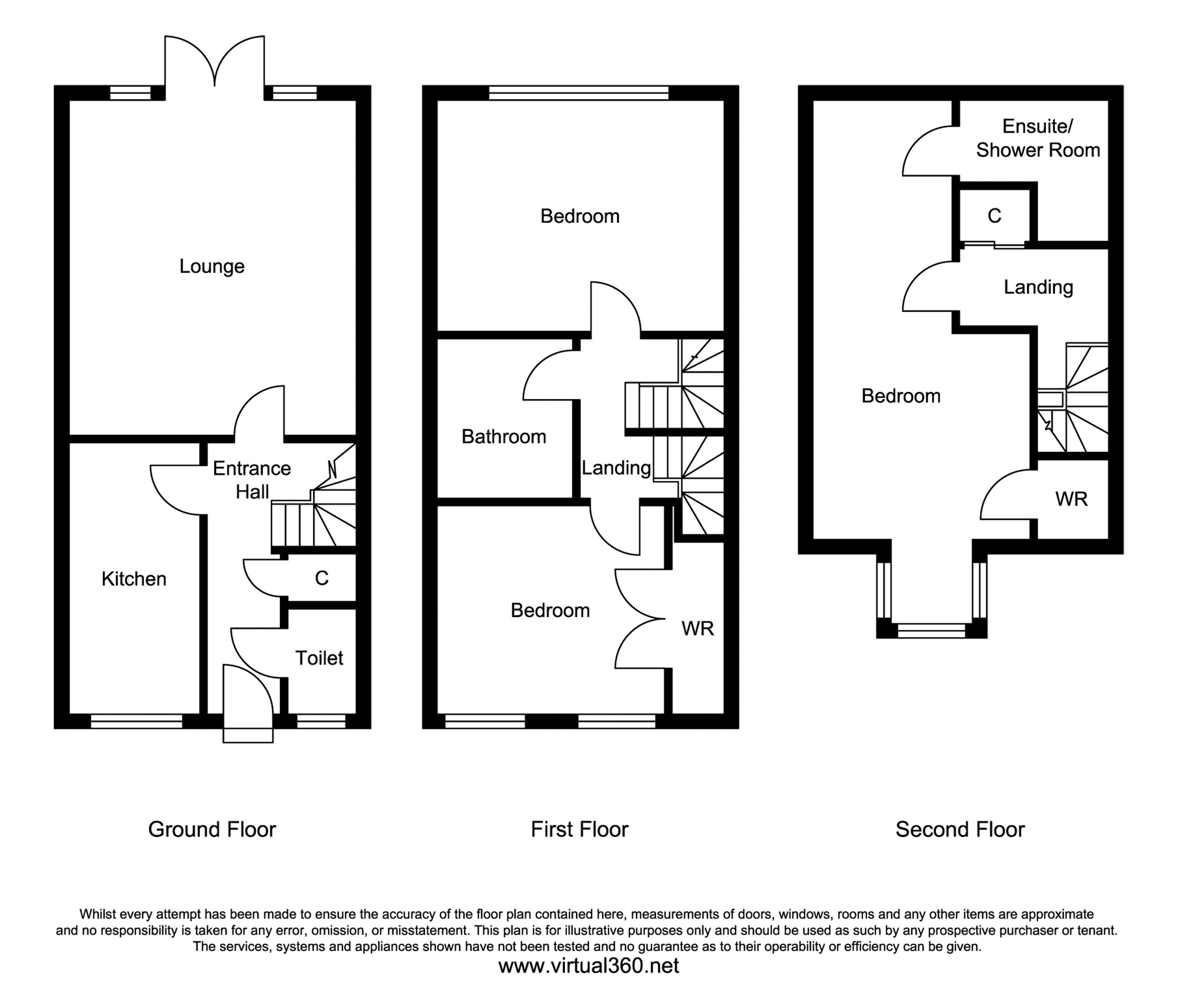 Station Road, Penshaw, Houghton Le Spring floor plan