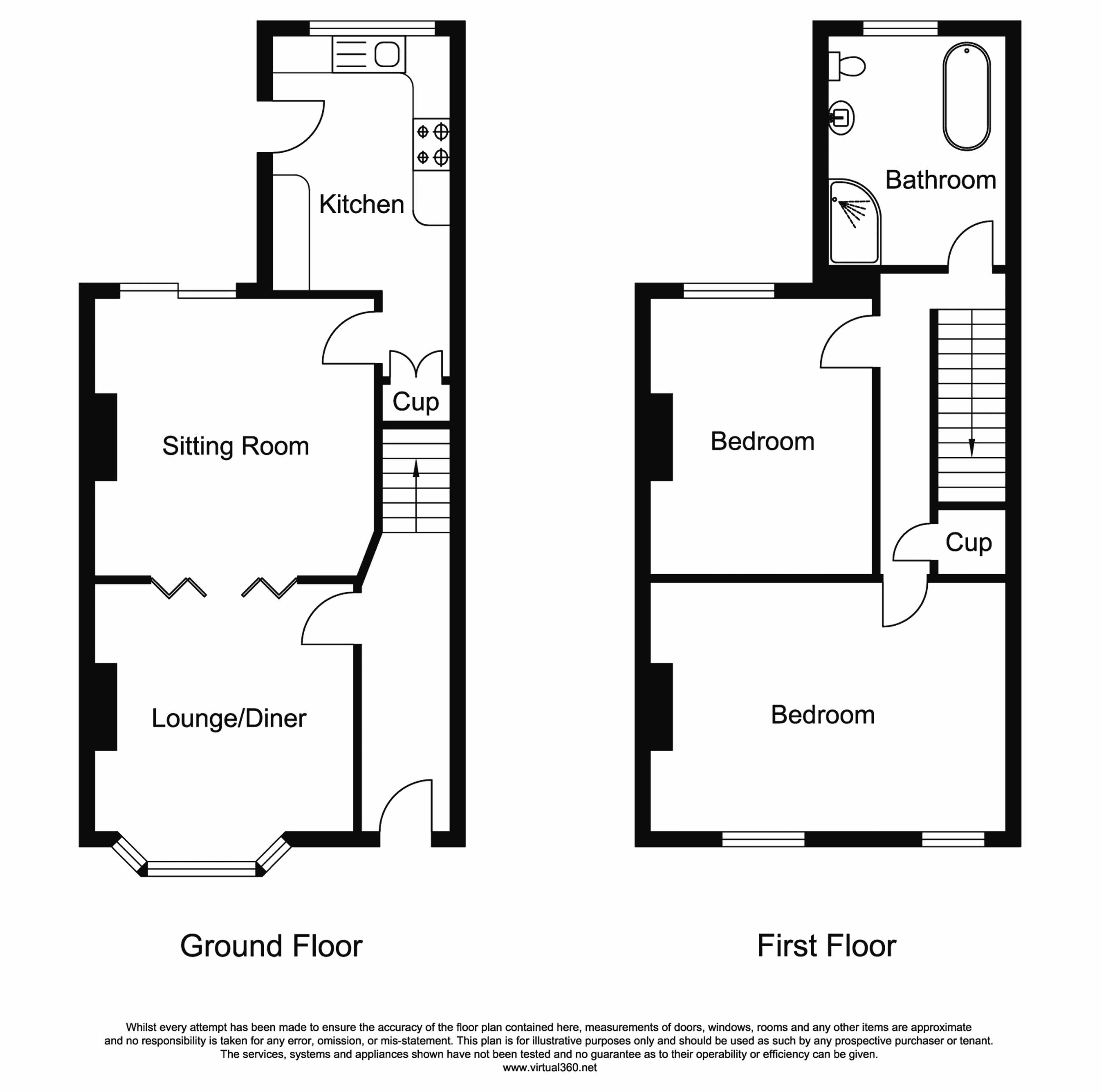 West Road, Congleton floor plan