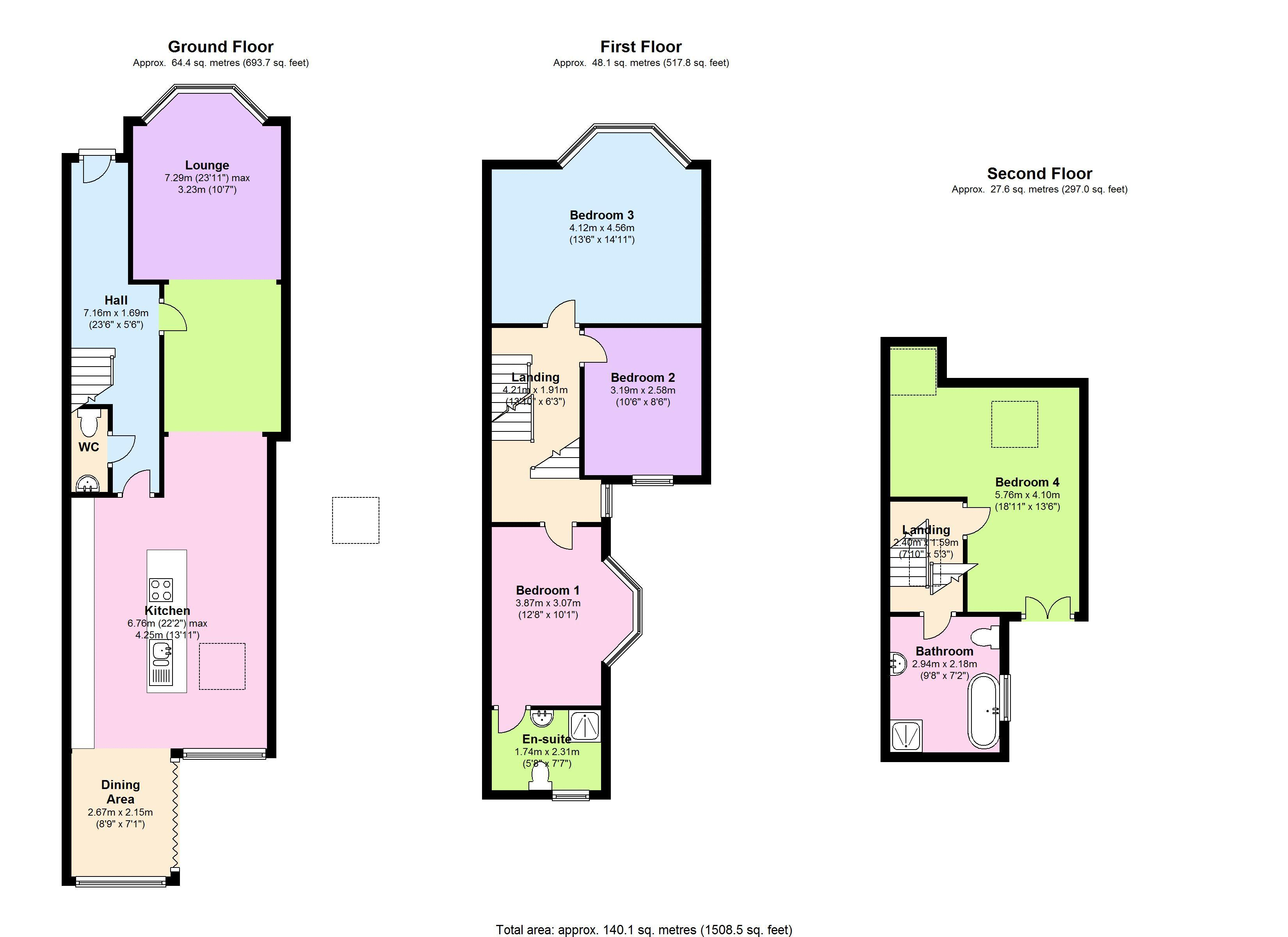 Mora Road, London, NW2 floor plan