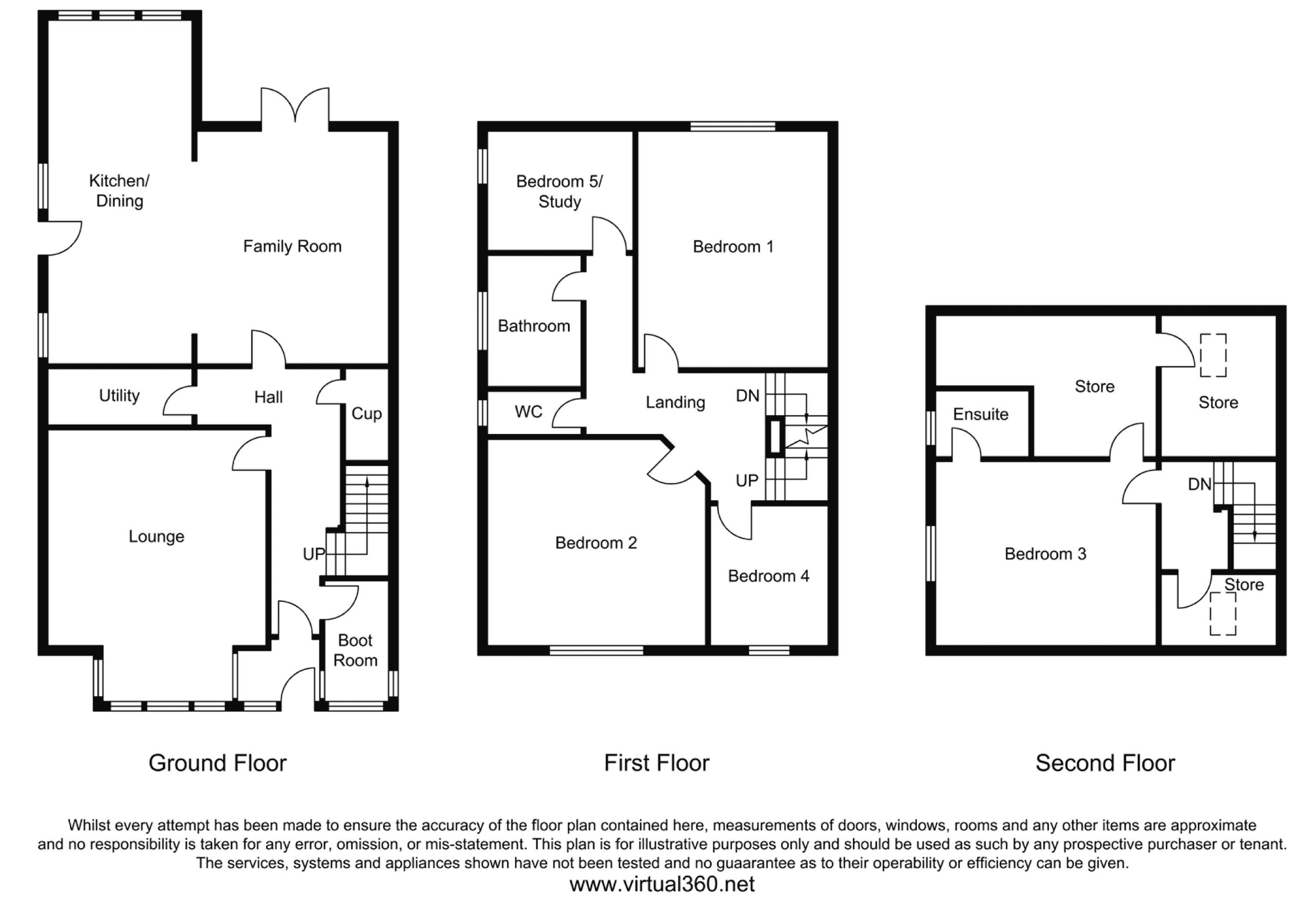 The Grove, Shipley floor plan