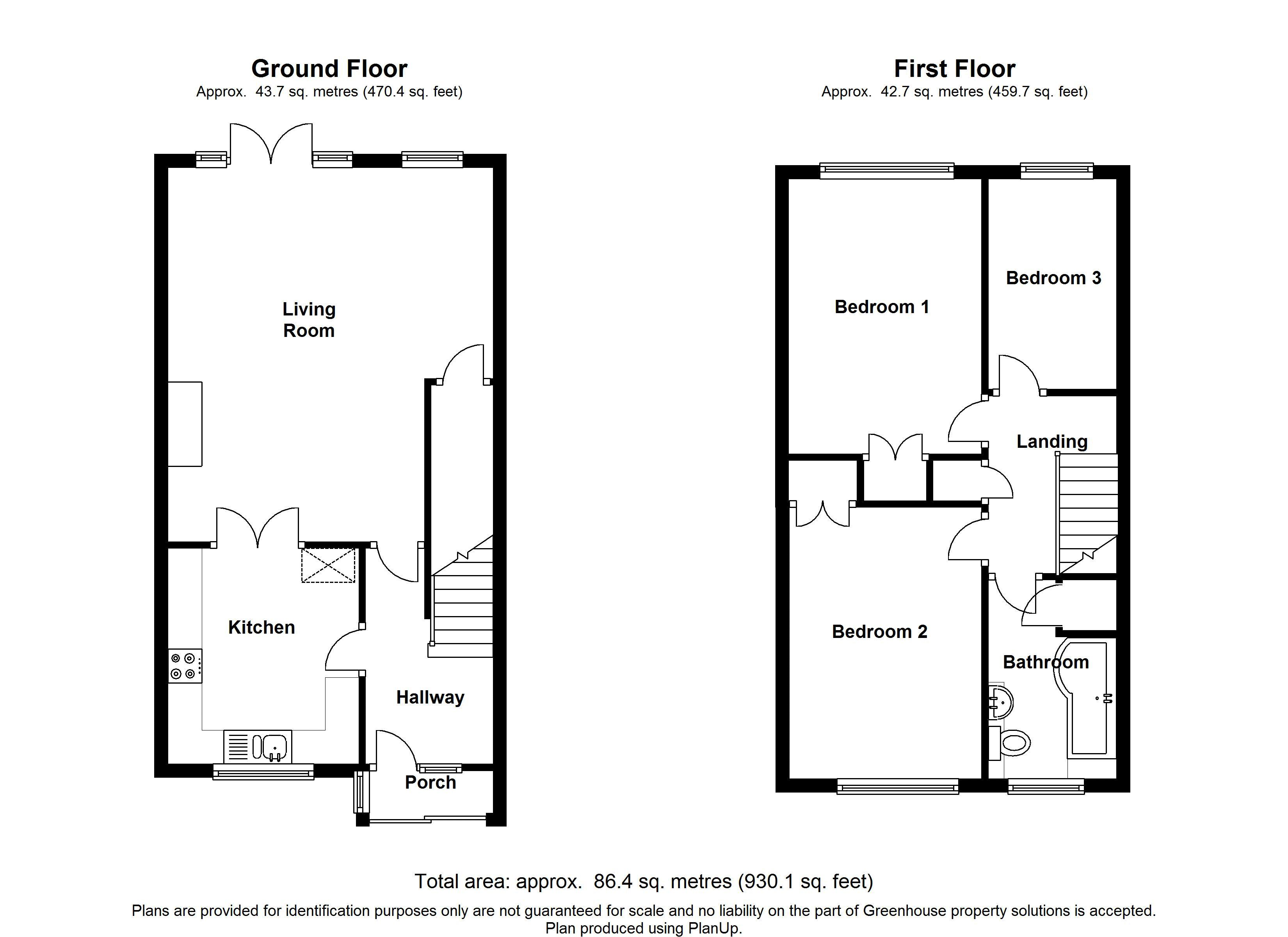 Farnham Close, Gillingham floor plan
