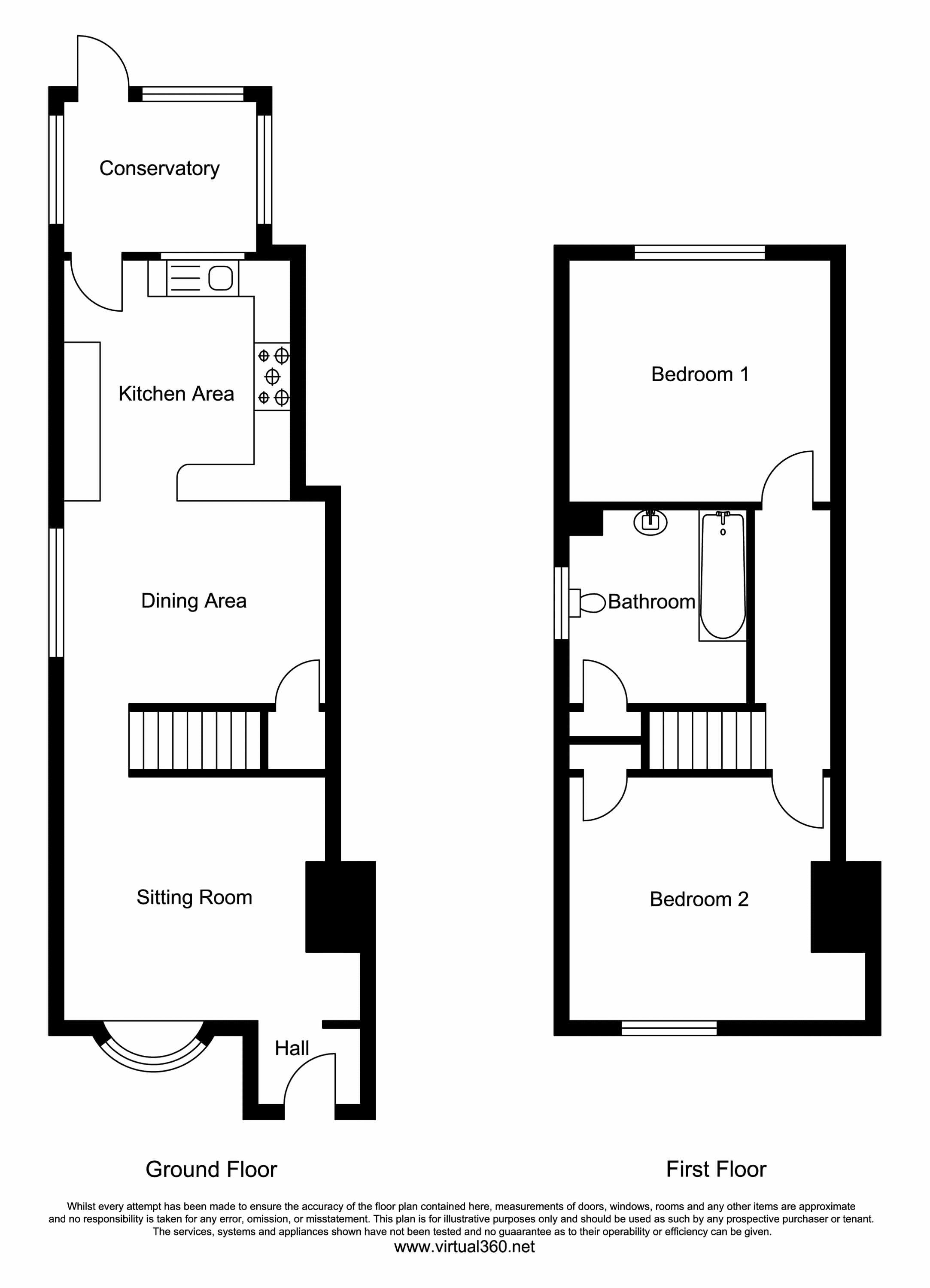 Clarence Walk, Meadvale, Redhill floor plan