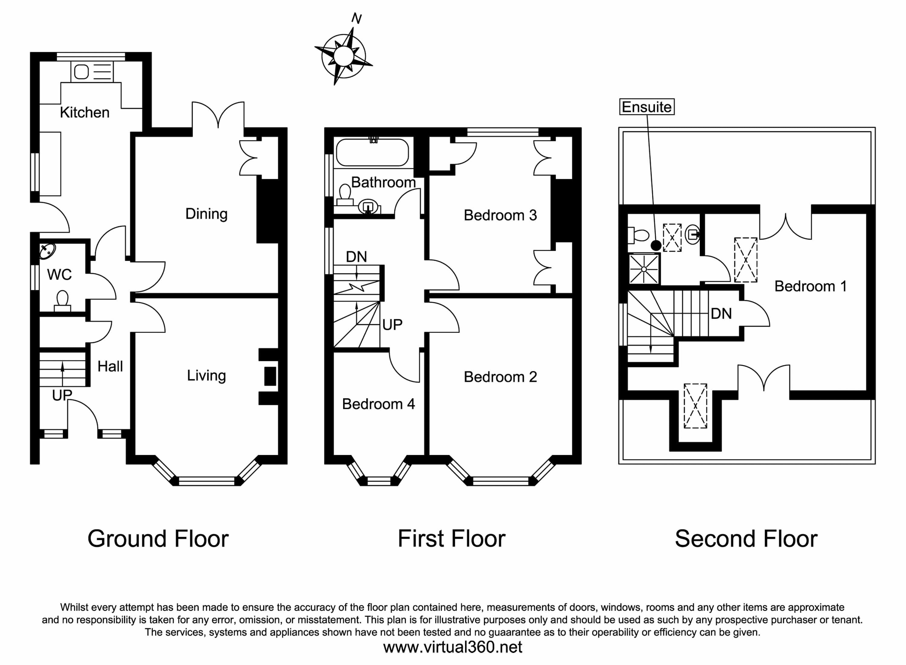 Queensberry Road, Salisbury floor plan