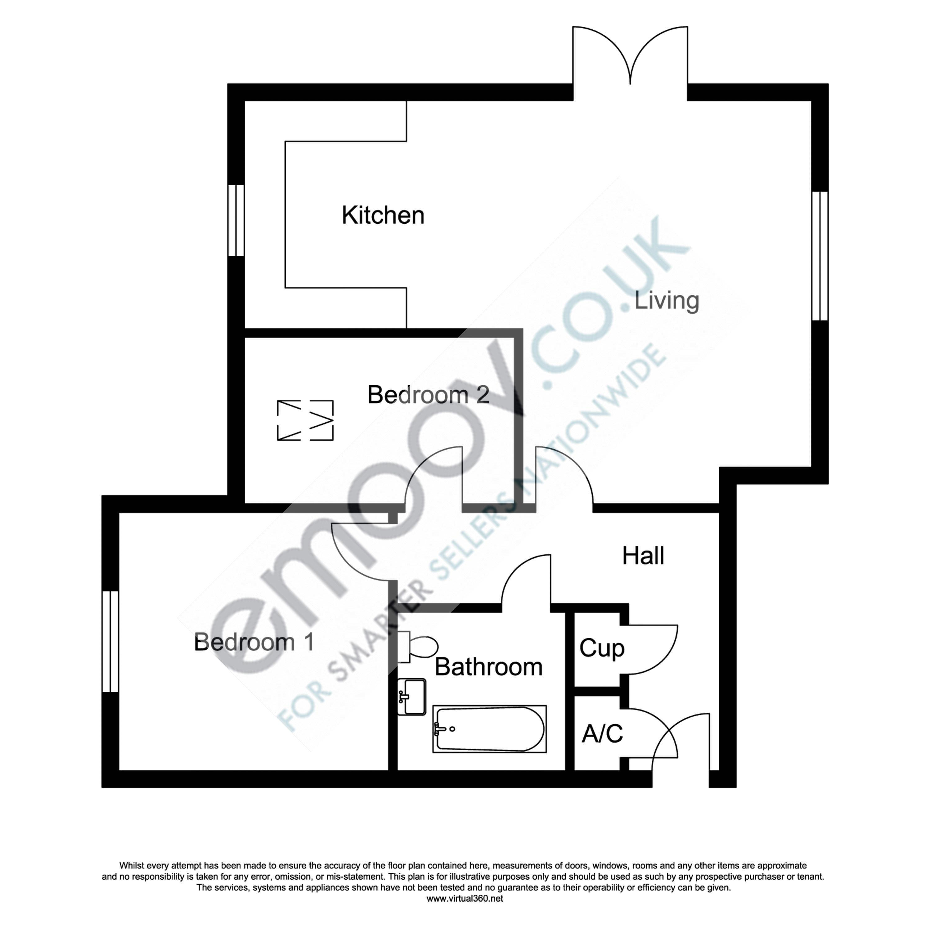 Gregory Gardens, Northampton floor plan