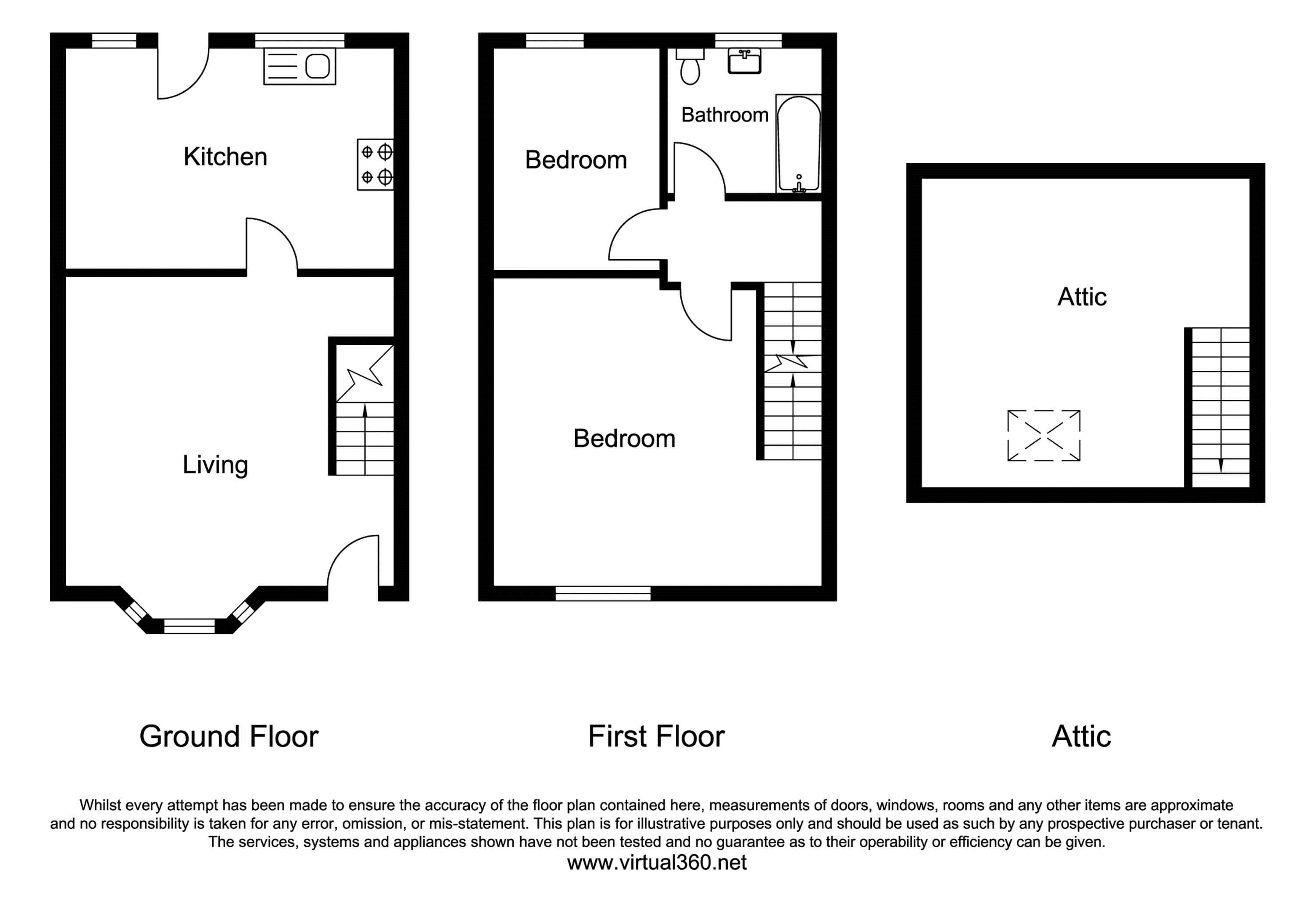 Acres Road, Chorlton Manchester M21 floor plan