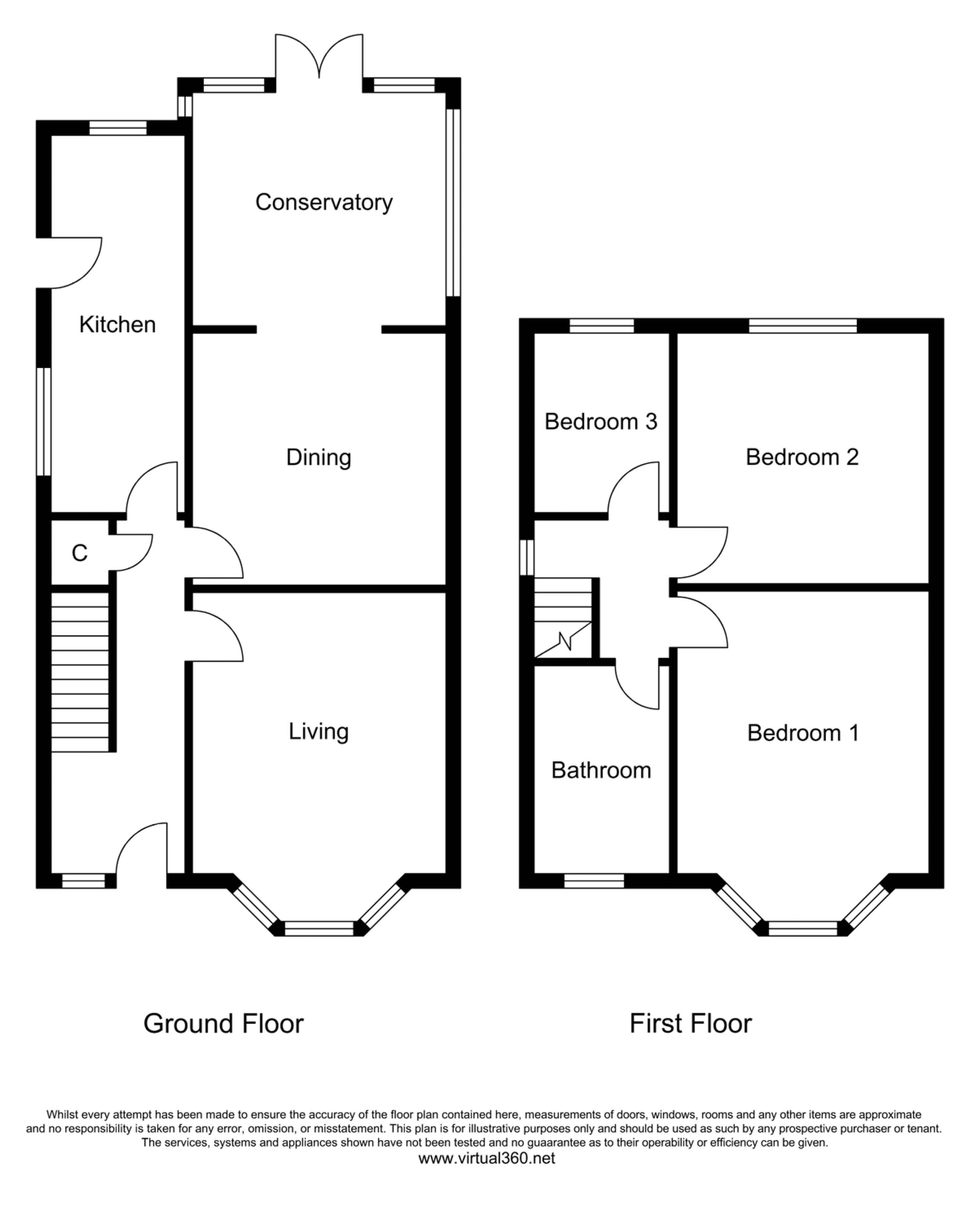 Victoria Road, Salford, Greater Manchester floor plan