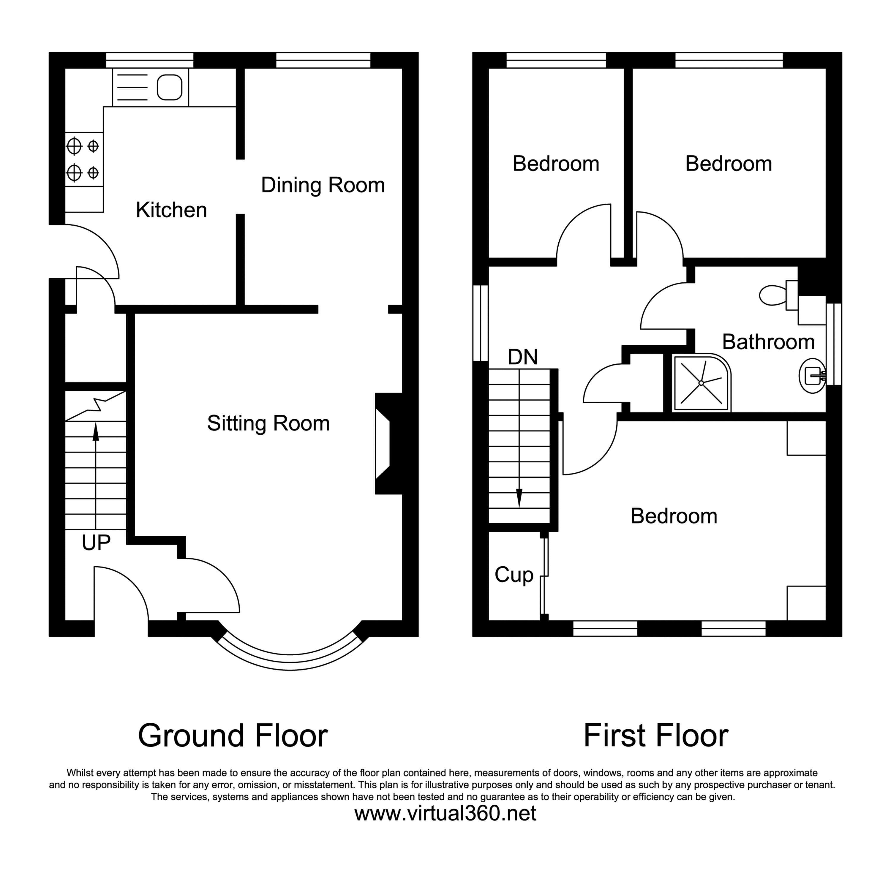 Rochford Drive, Luton floor plan