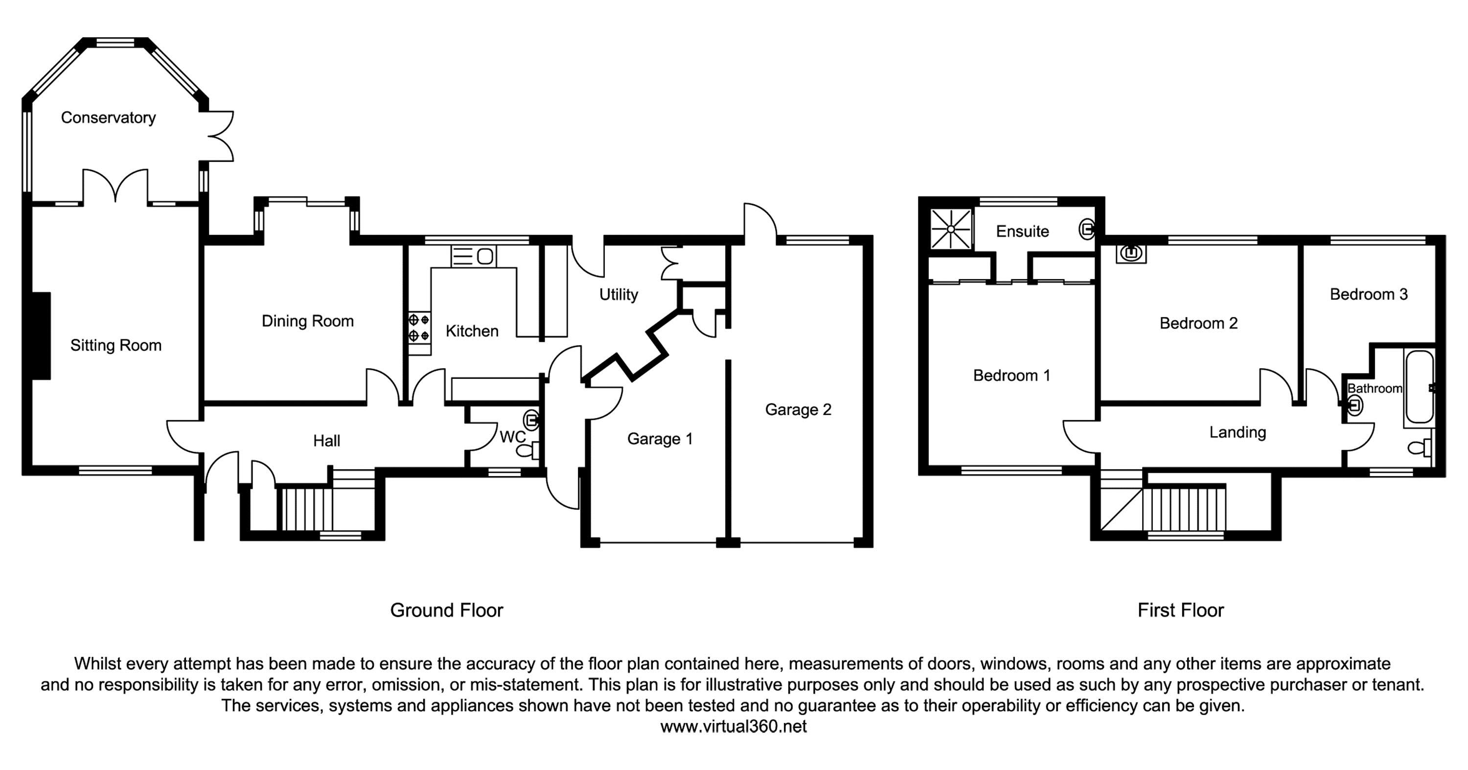 The Drive, Copthorne floor plan