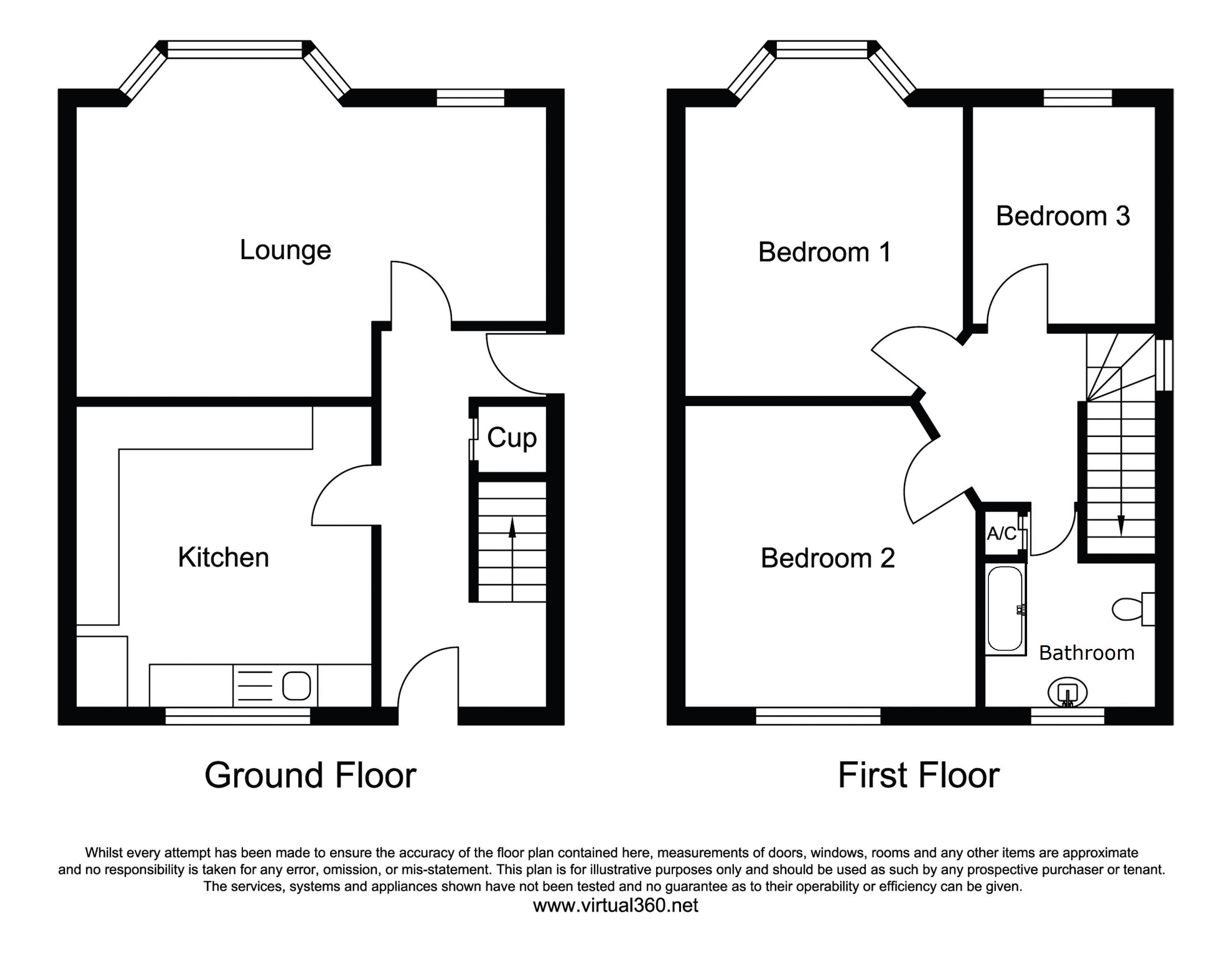 Glenfield, Leicester floor plan