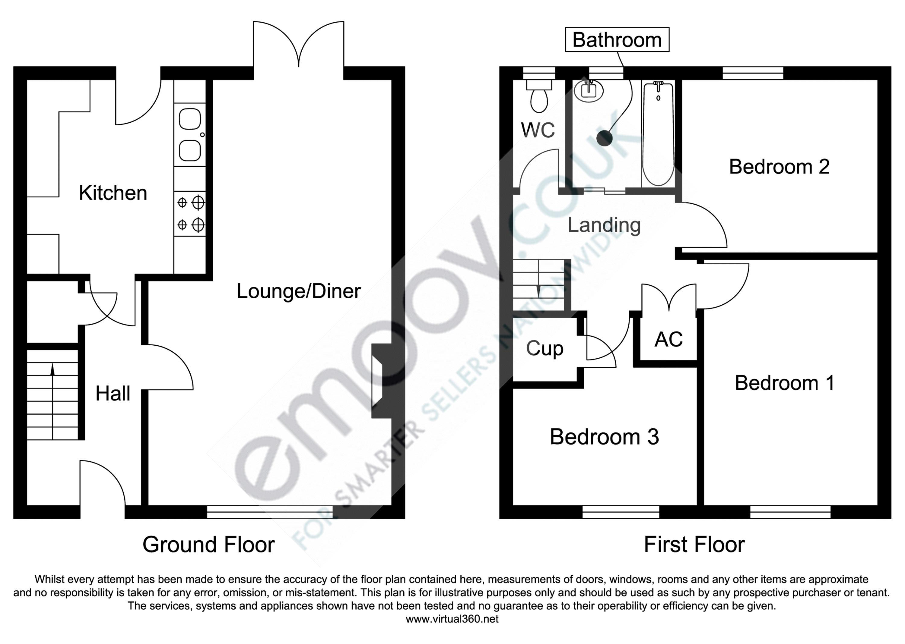 Ashlea Castle Cary, Somerset floor plan