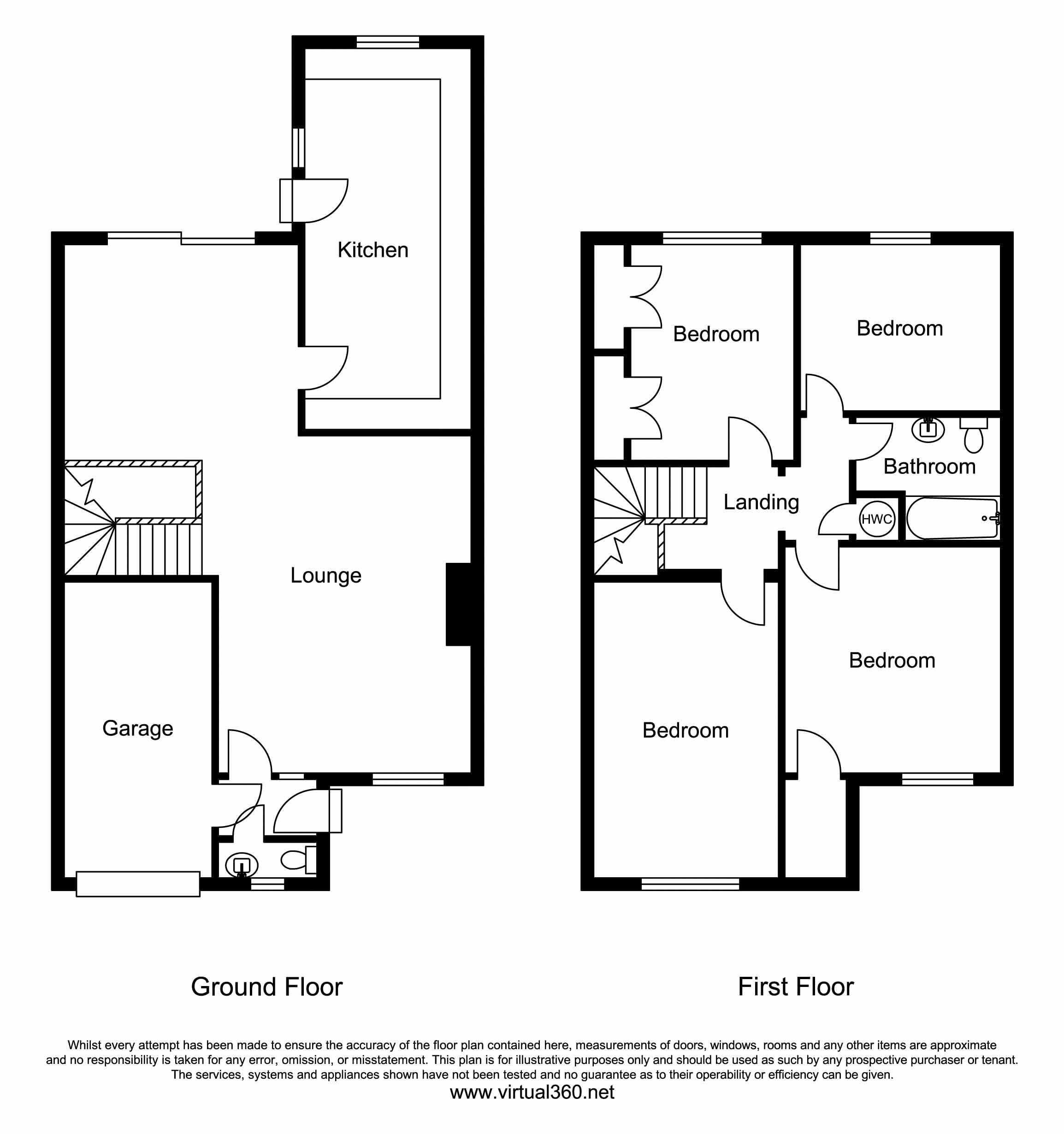 Cromwell Avenue, Thame floor plan