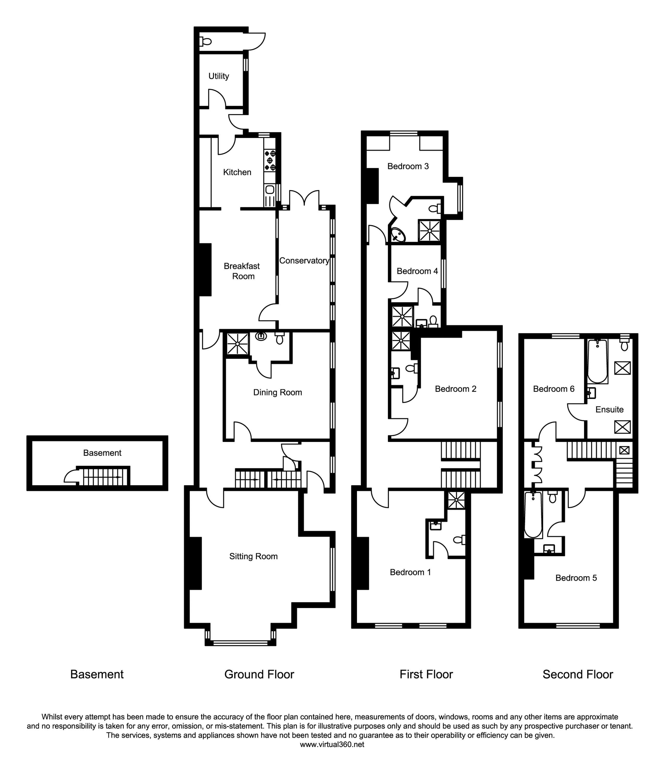 Fulford Road, York floor plan