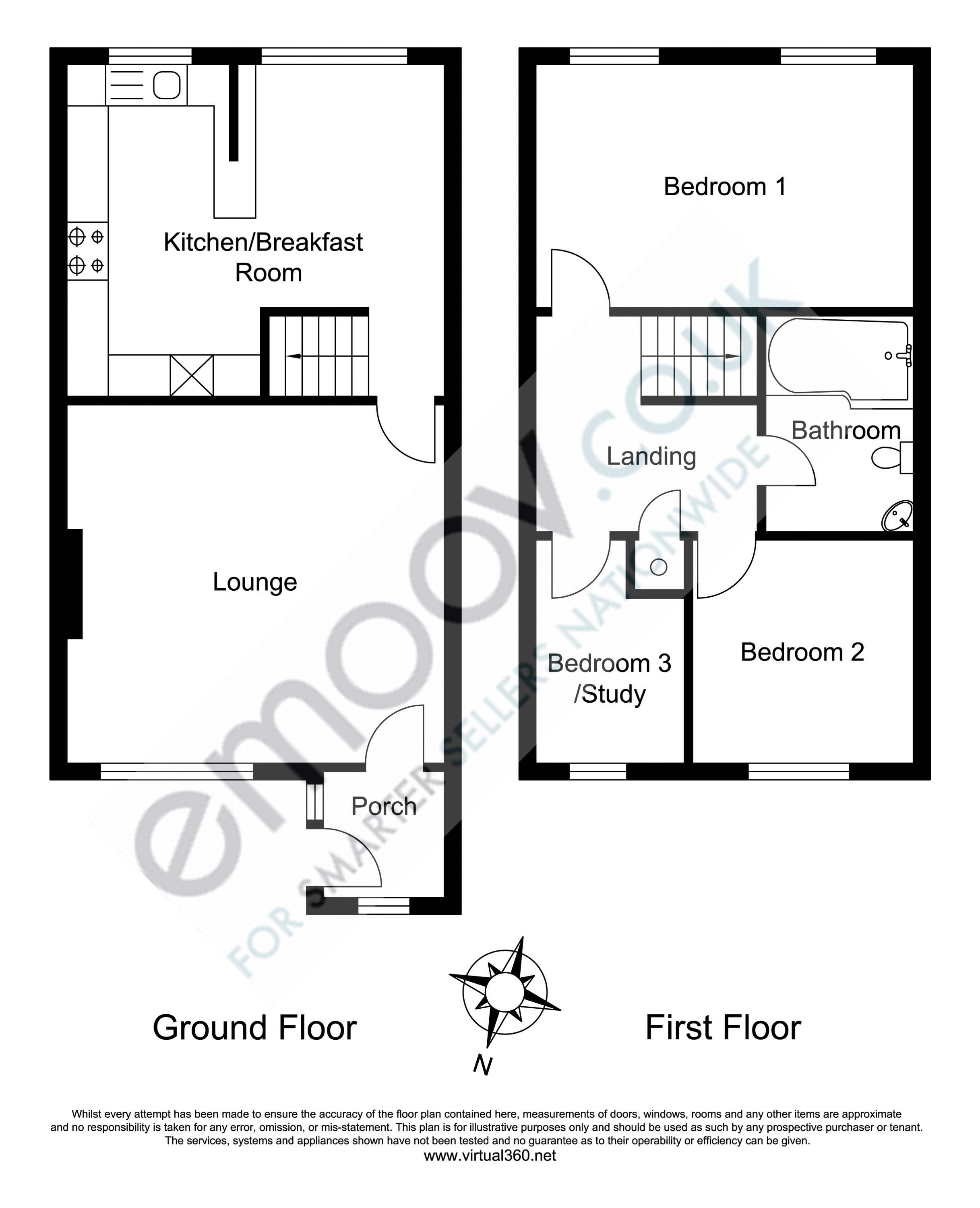 The Hawthorns, Cardiff floor plan
