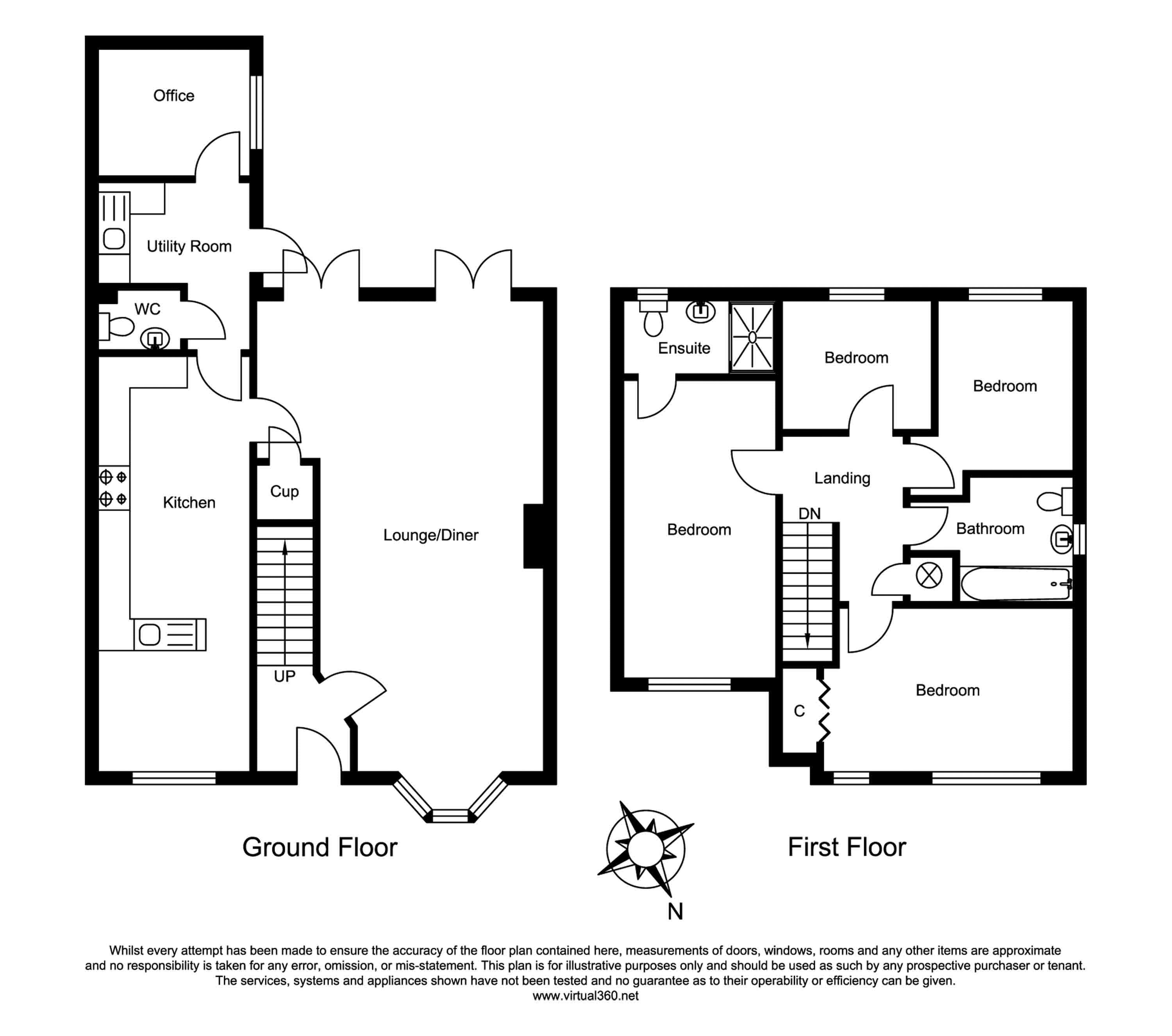 Fringford Close, Lower Earley, Reading floor plan