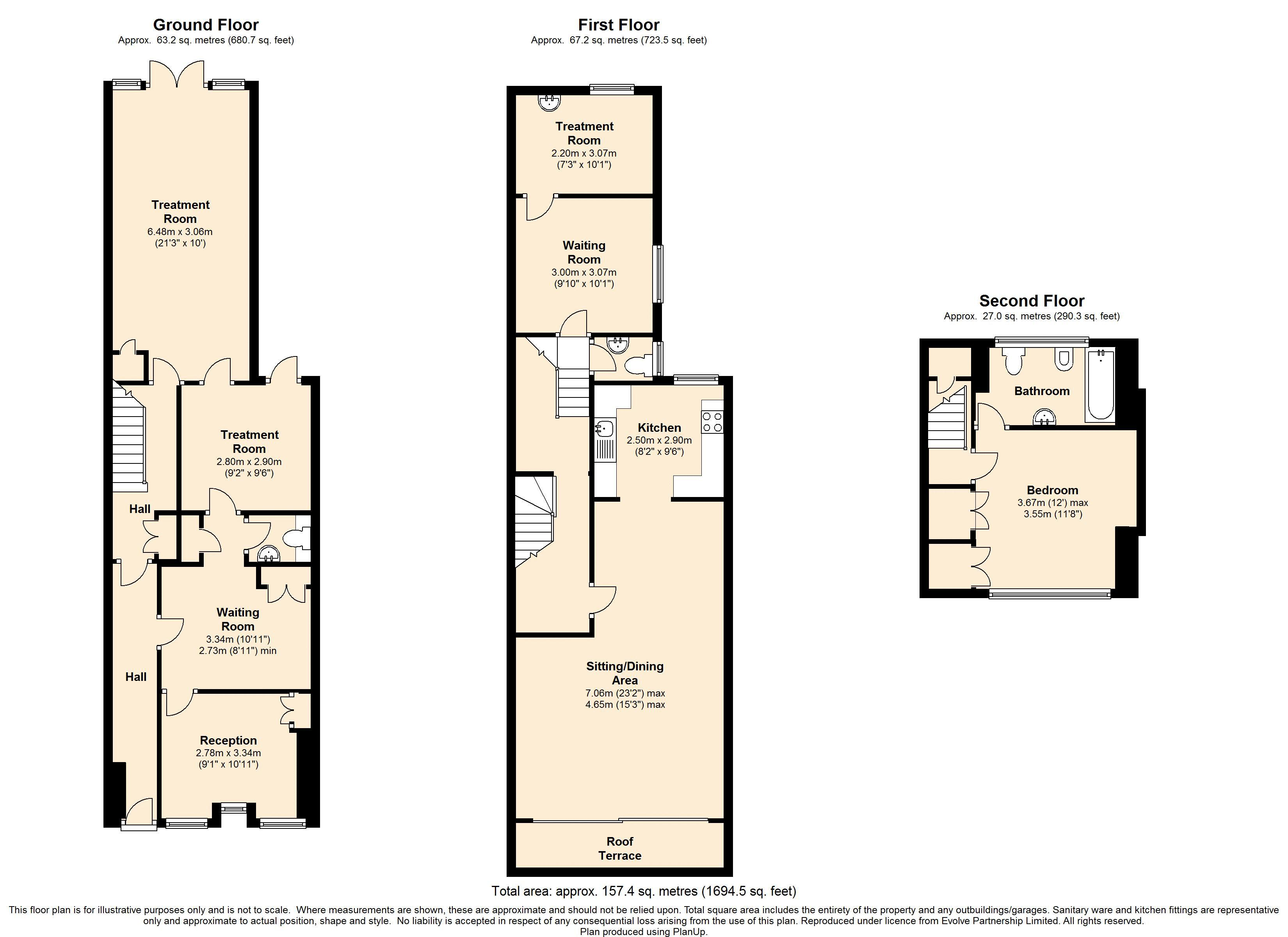 Marmion Road, Southsea floor plan
