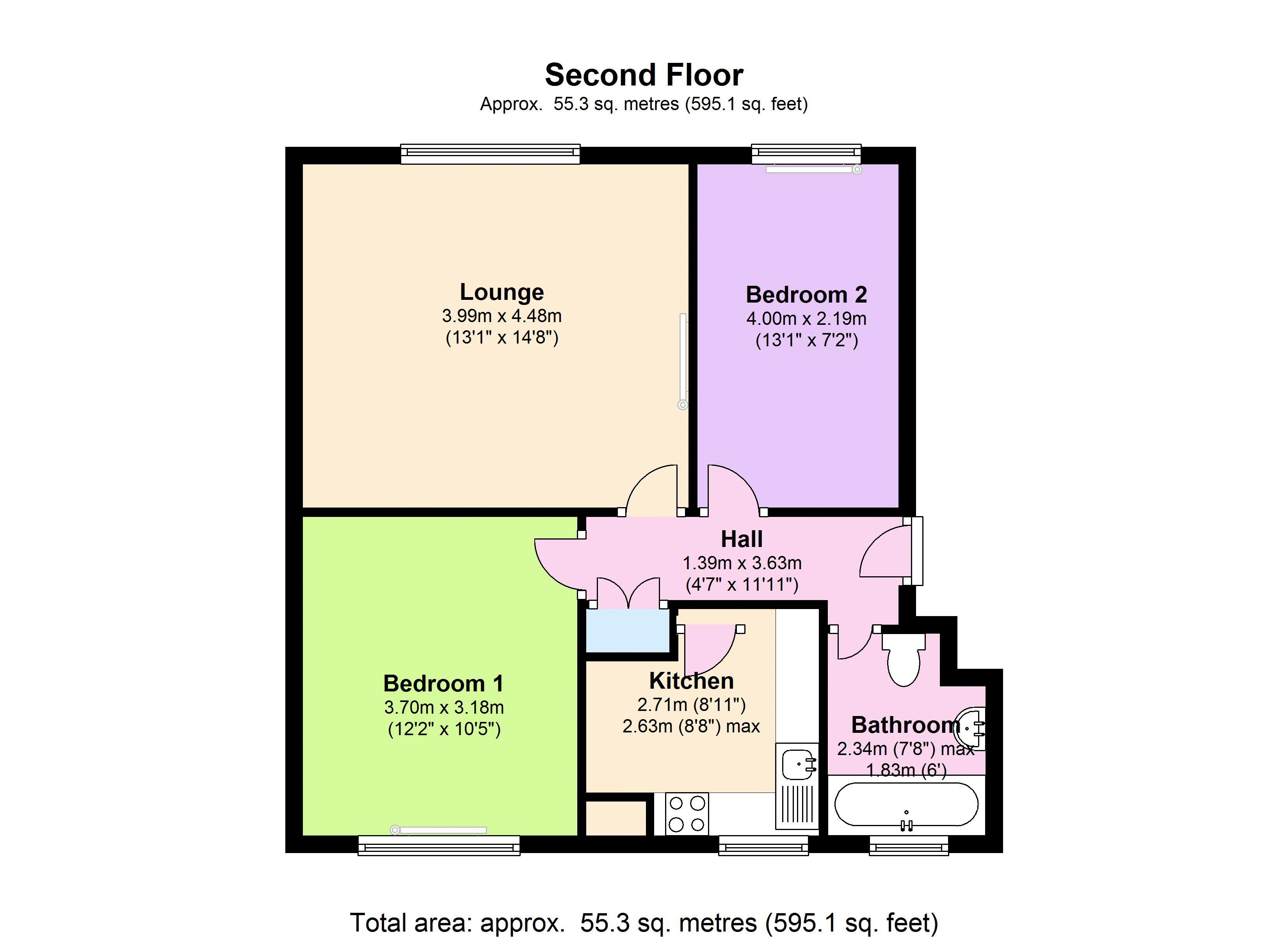 Reedworth Street, London SE11 floor plan