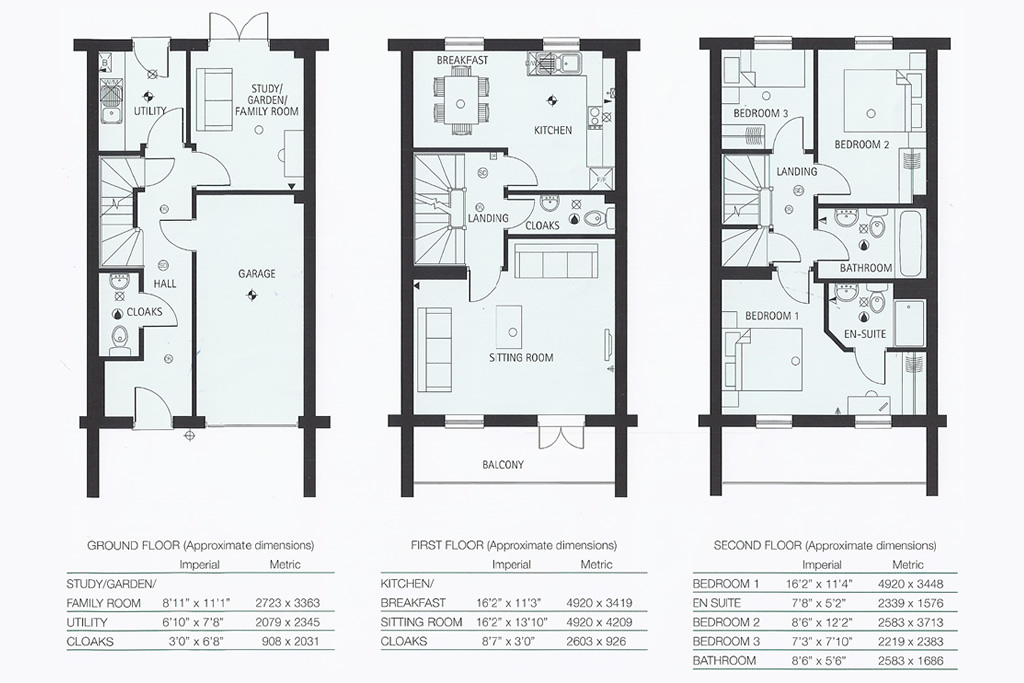 Ridley Avenue, Siston, South Gloucestershire floor plan