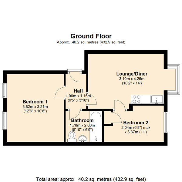Scottwell Drive, London, NW9 floor plan