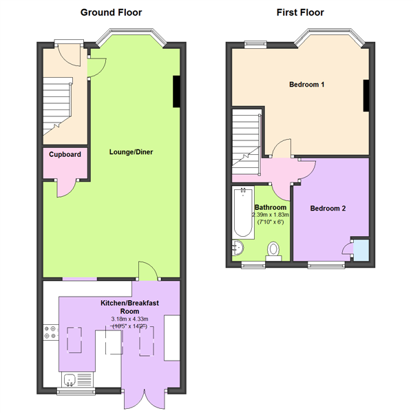Erithway Road, Coventry, CV3 floor plan