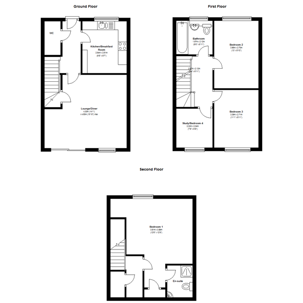 Berrywell Drive, Leicester, LE9 floor plan