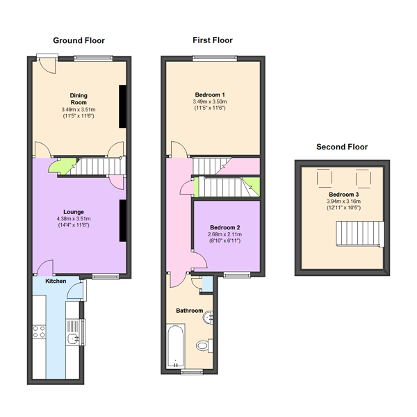 Church Road, Glenfield, Leicester, LE3 floor plan