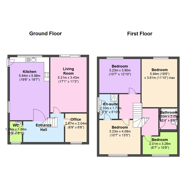 The Locks Woodlesford, Leeds, West Yorkshire, LS26 floor plan