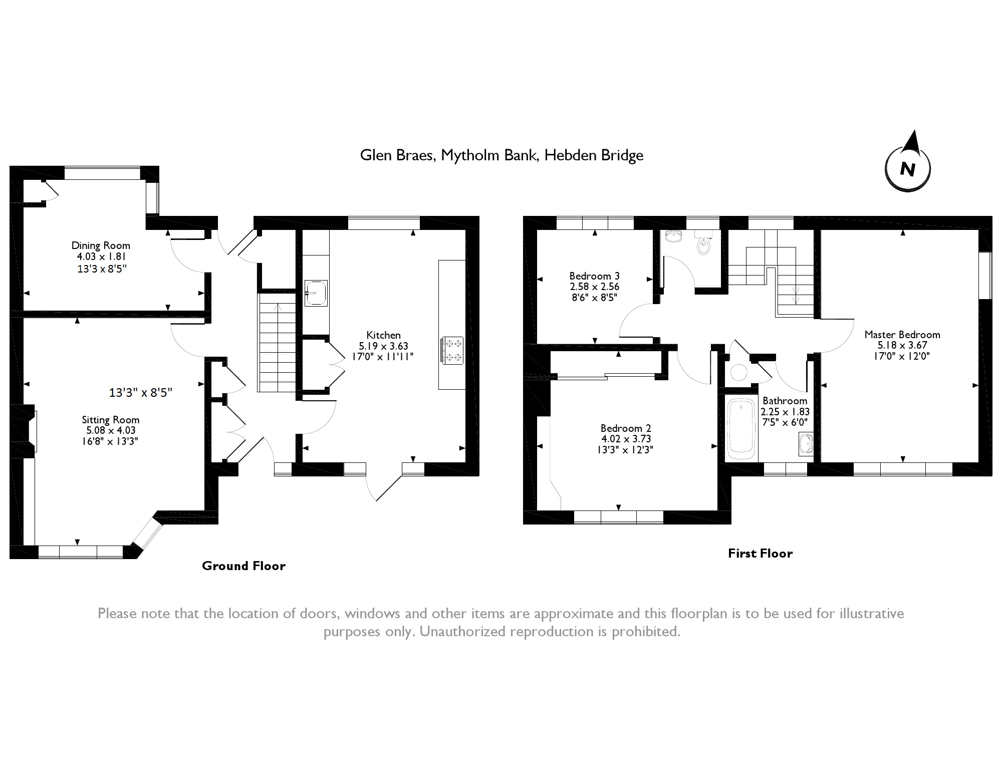 Mytholm Bank, Hebden Bridge, HX7 floor plan