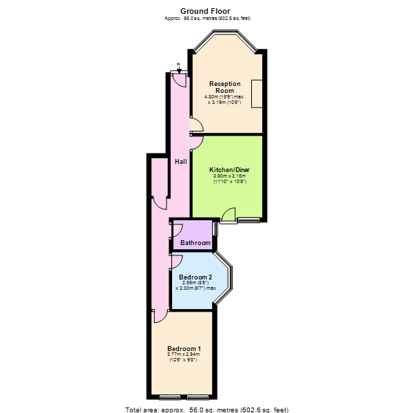 Blythe Vale, London, SE6 floor plan