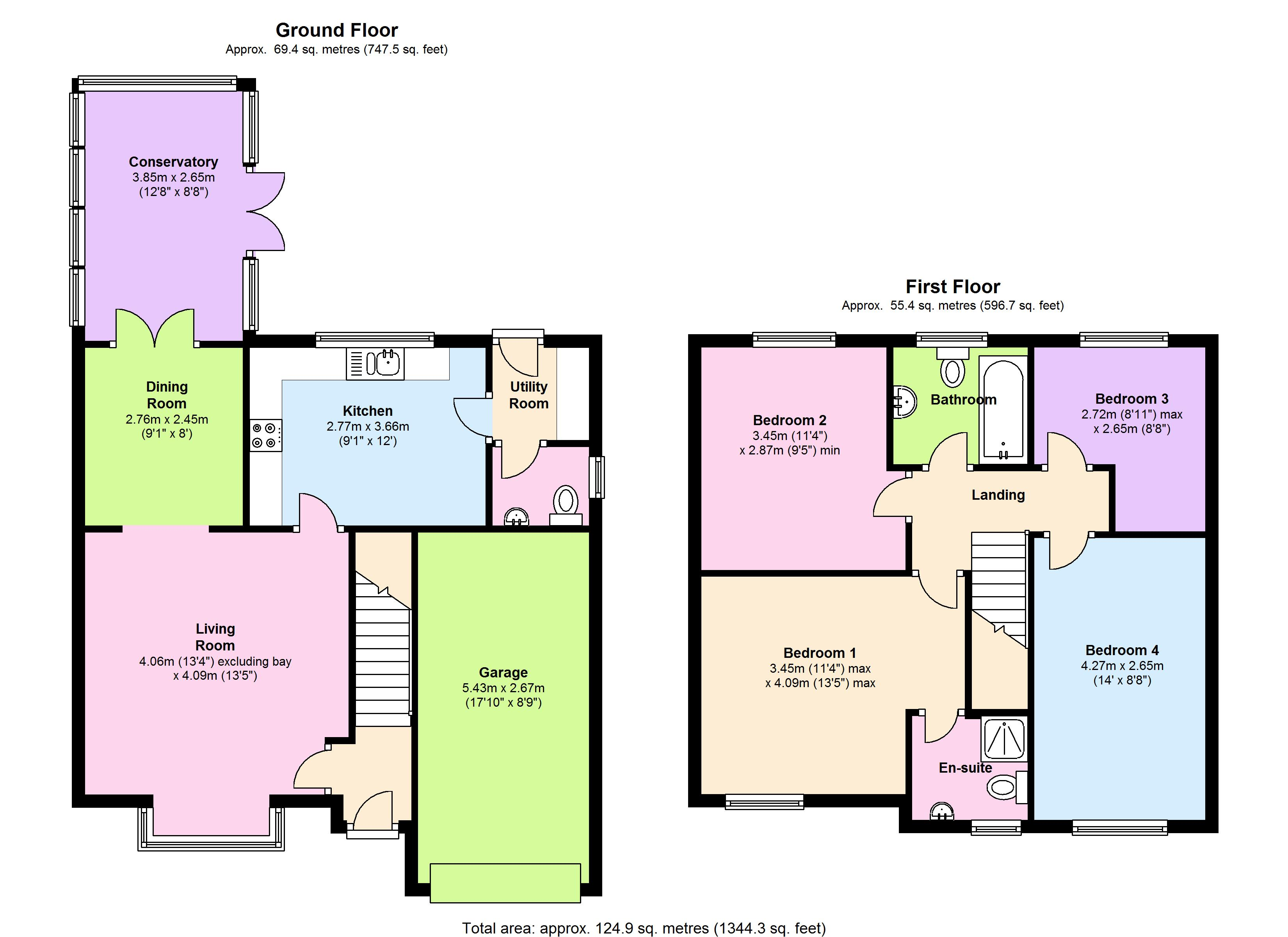 Bathurst Close, Burnham-on-sea, TA8 floor plan