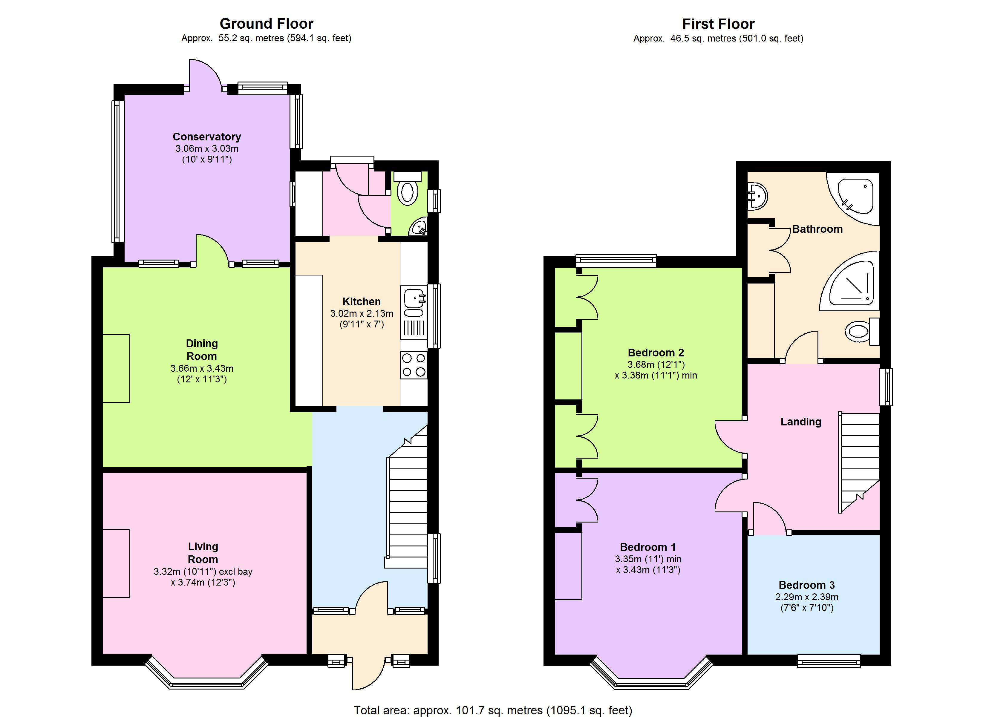 Cranbrook Road, Exeter,  EX2 floor plan