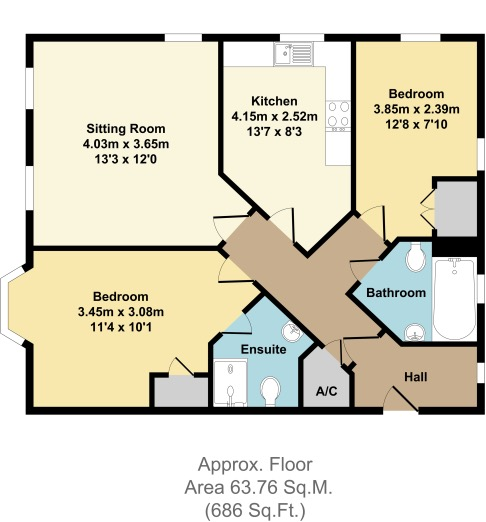 Bardswell Court, Stratford Upon Avon floor plan