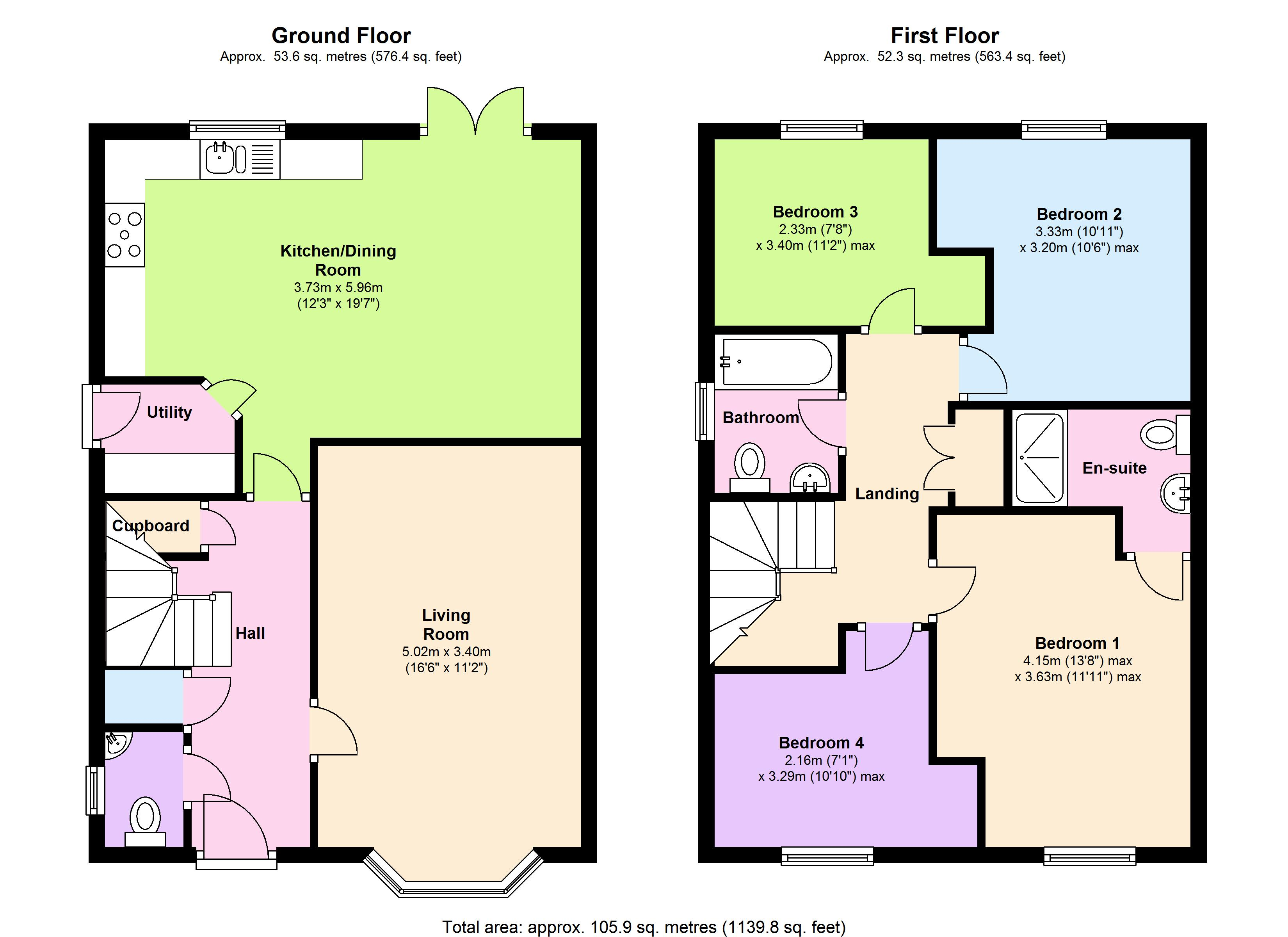 Withies Way, Radstock, BA3 floor plan