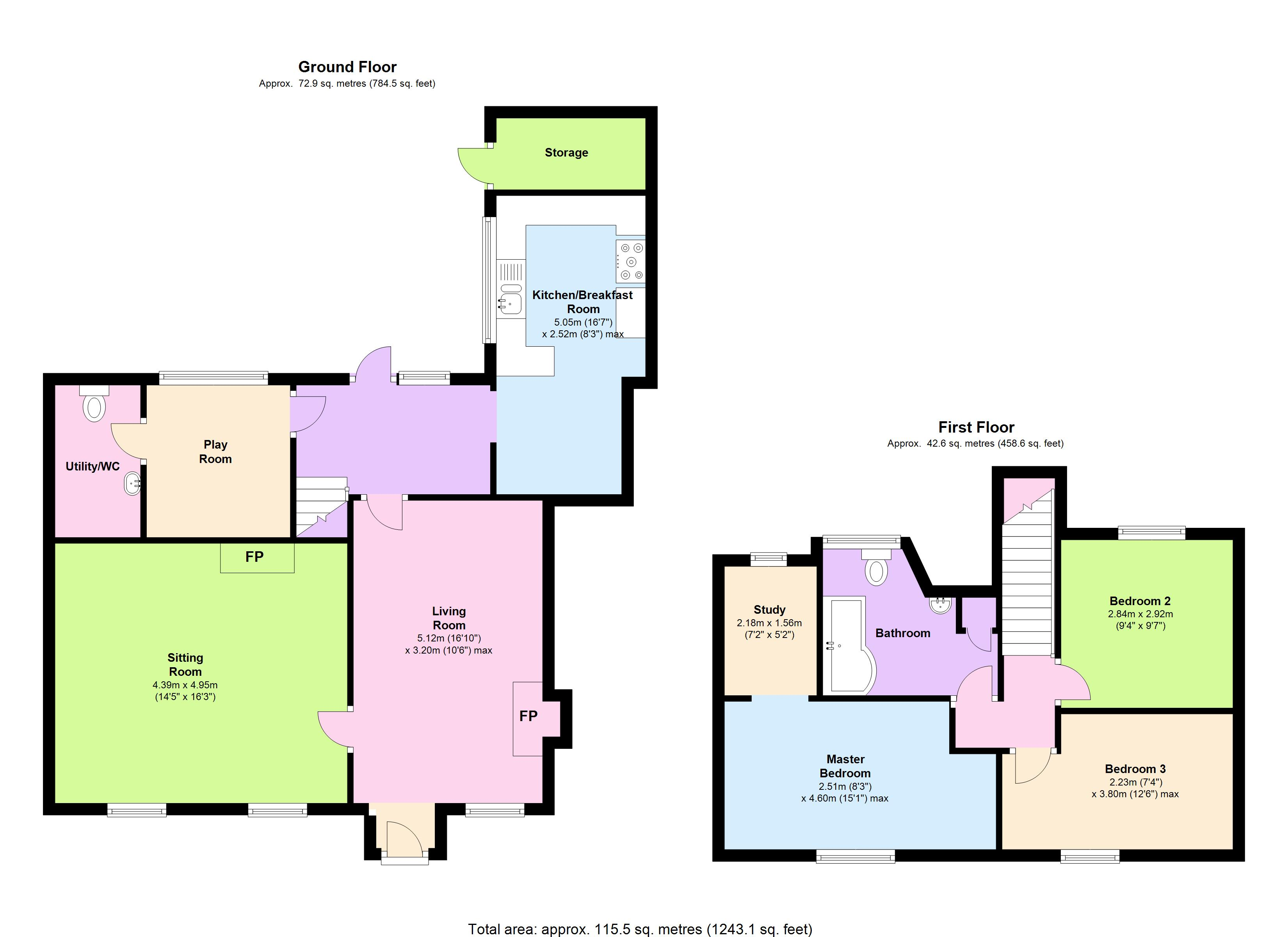North Hill, Launceston, Cornwall, PL15 floor plan