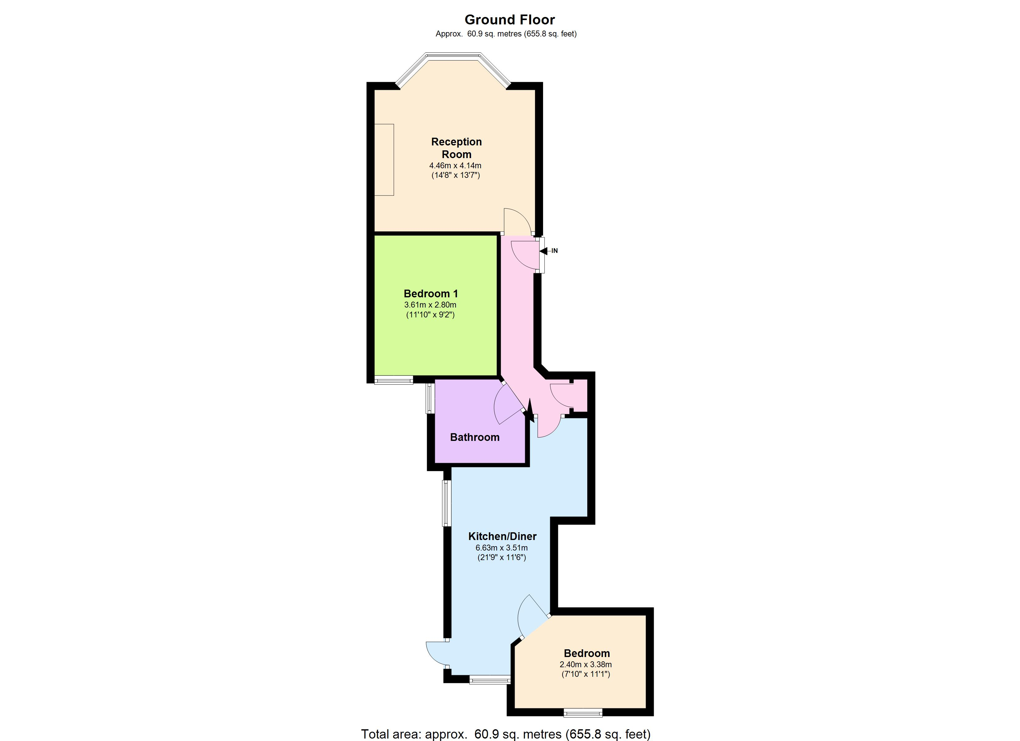 Aigburth Mansions, Mowll Street,London, SW9 floor plan