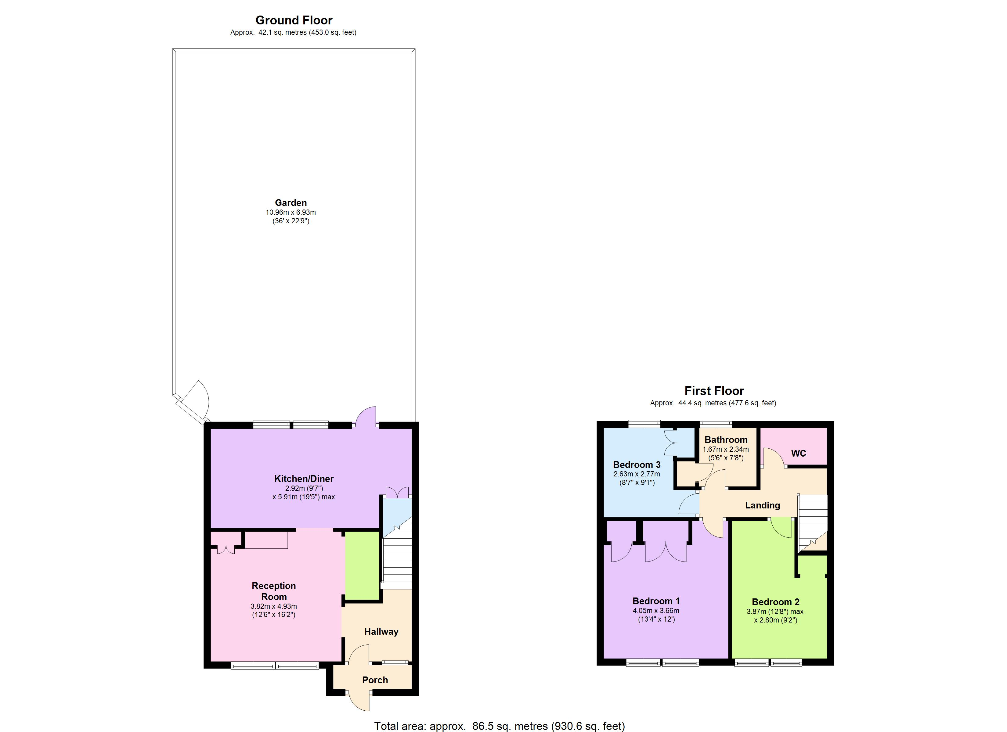 Whetstone Road, London, SE3 floor plan
