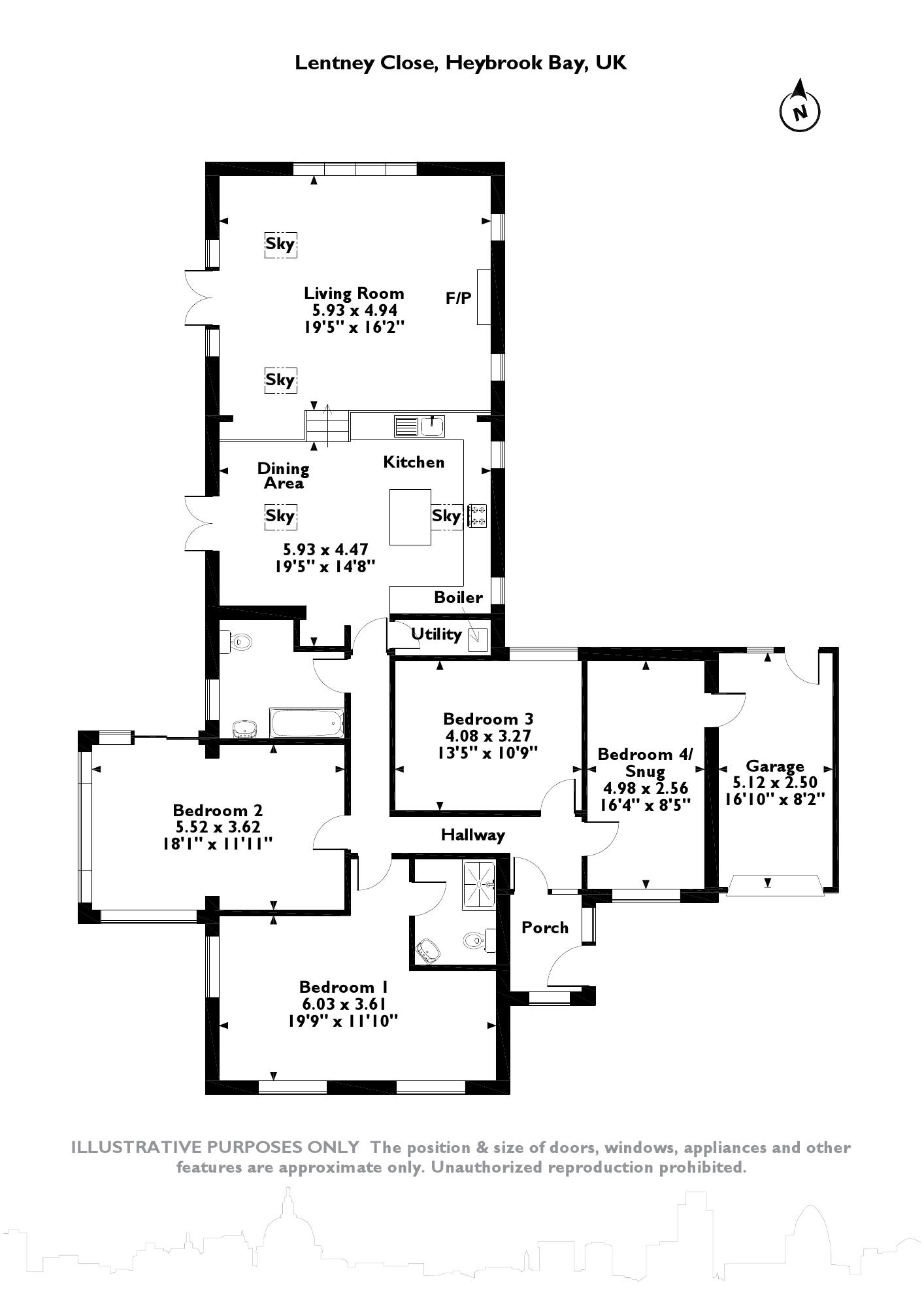 Lentney Close, Plymouth, PL9 floor plan